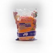 Massa para Biscuit Laranja 1kg