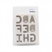 Molde de silicone alfabeto do A ao I