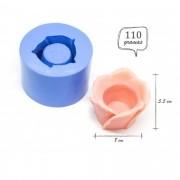 Molde de silicone Vaso flor