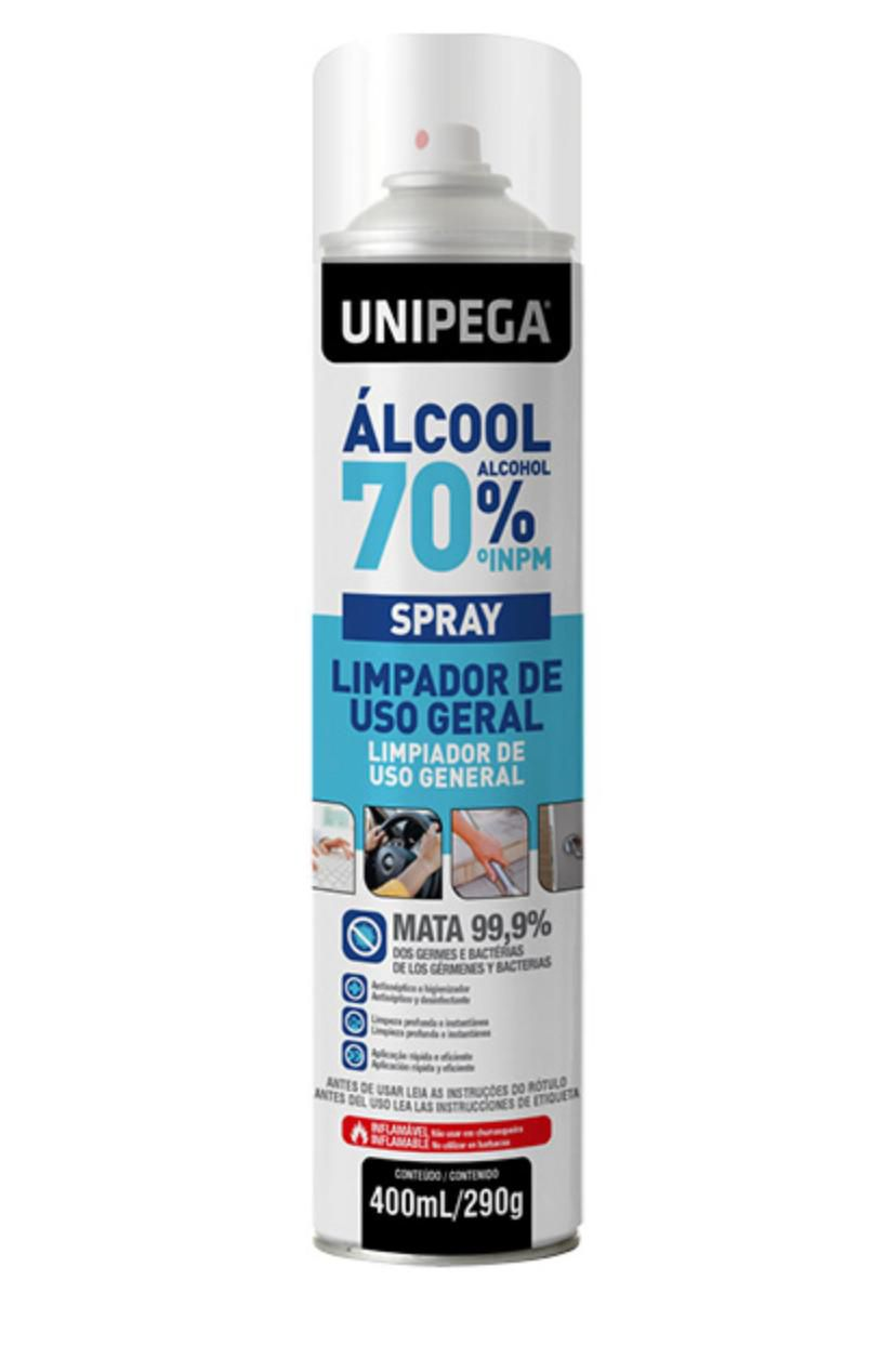 Álcool Spray 70% - 400ml