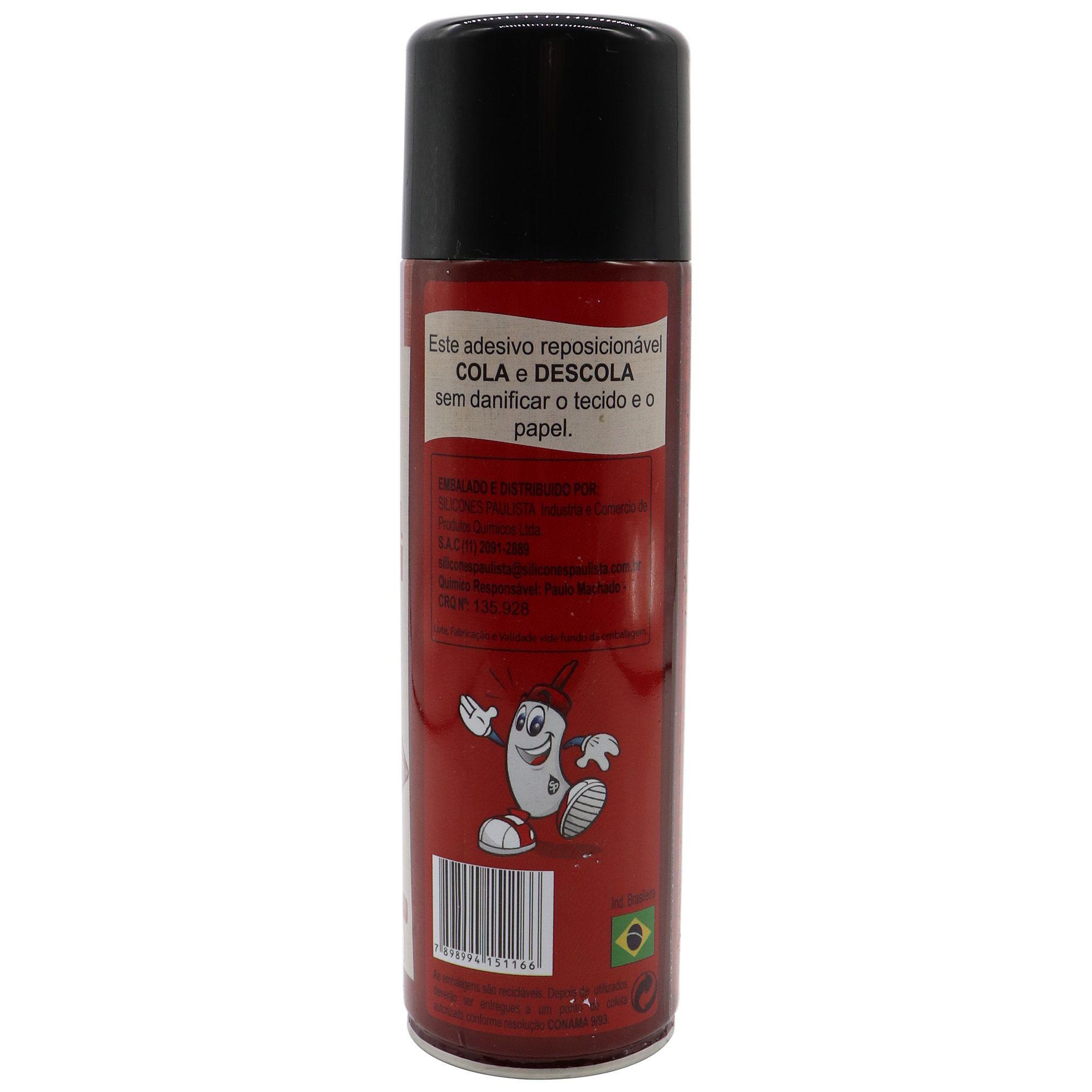 Cola Reposicionável Spray para Tecidos e Papeis 300ml
