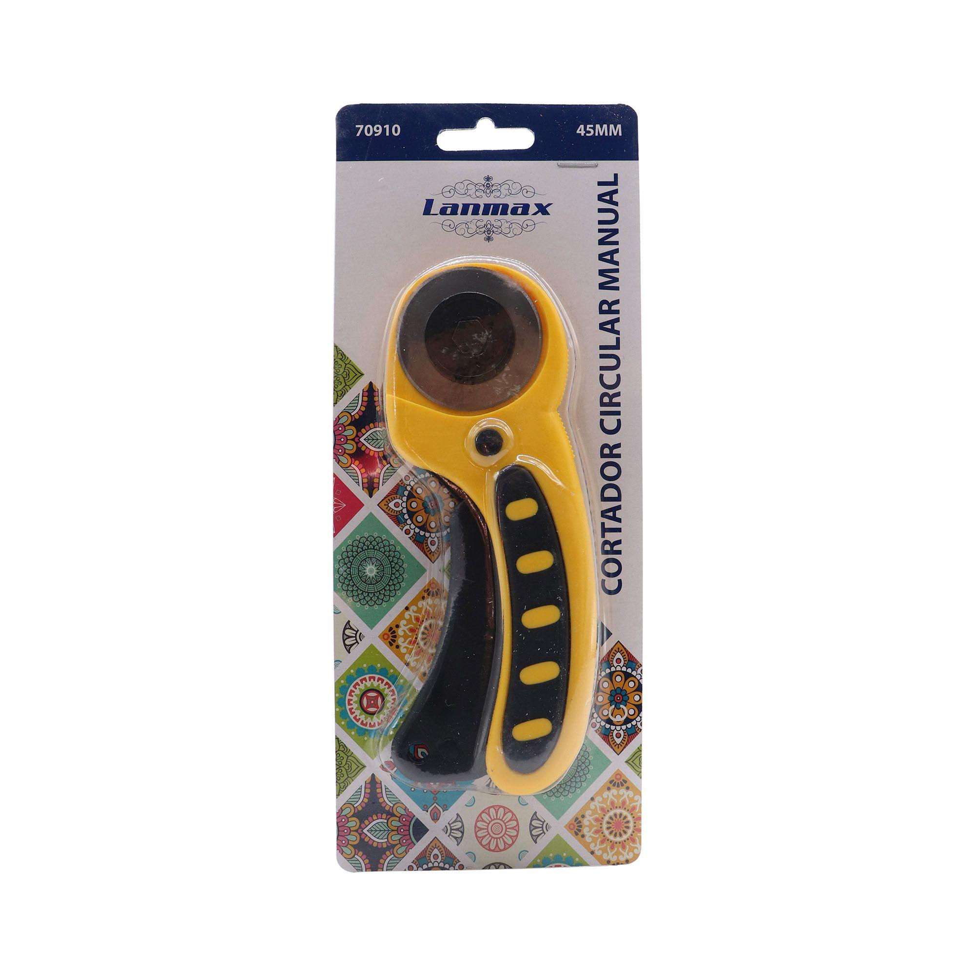 Cortador de Tecido ambidestro Amarelo / Laranja 45mm