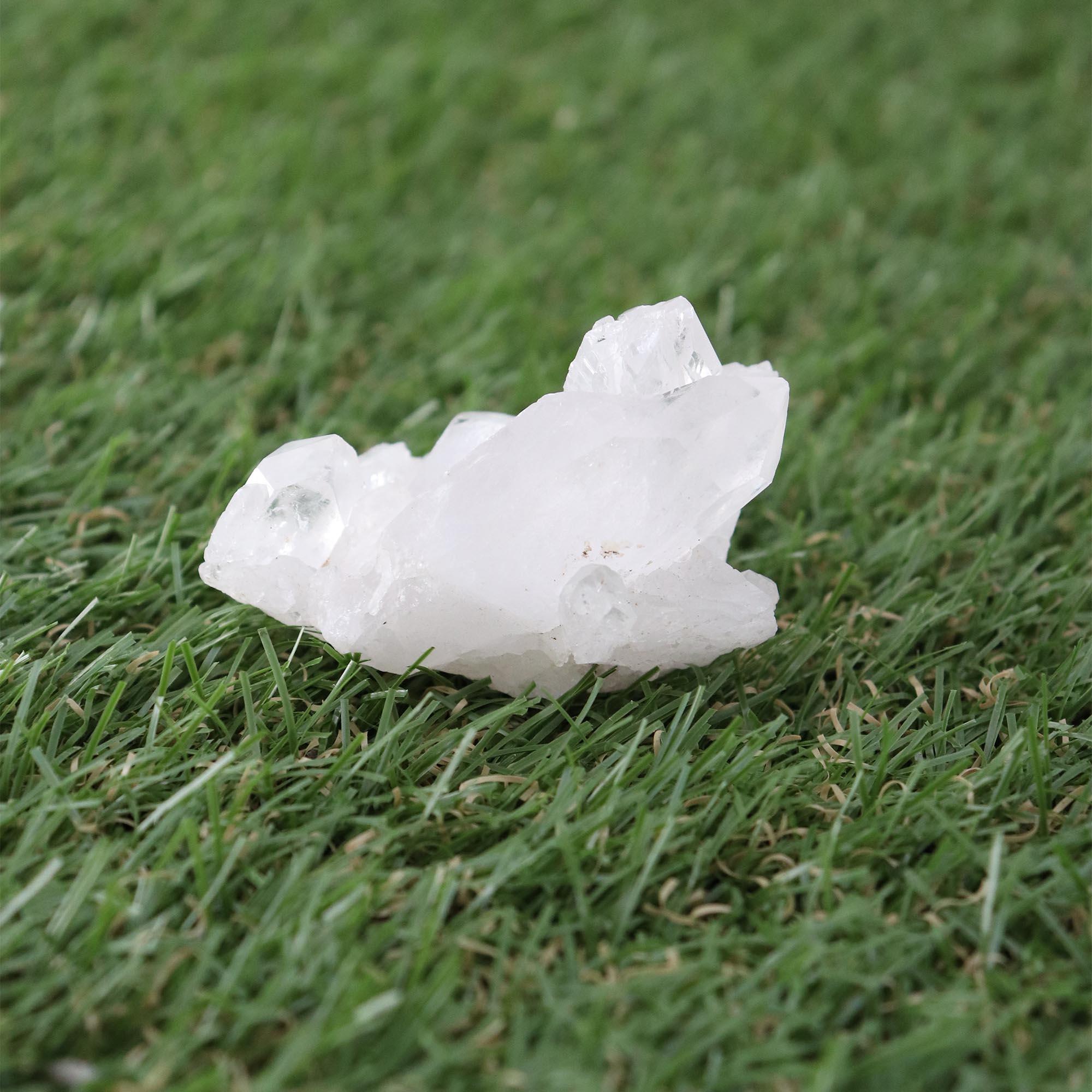 Cristal Quartzo branco 100g - Semi Lapidado