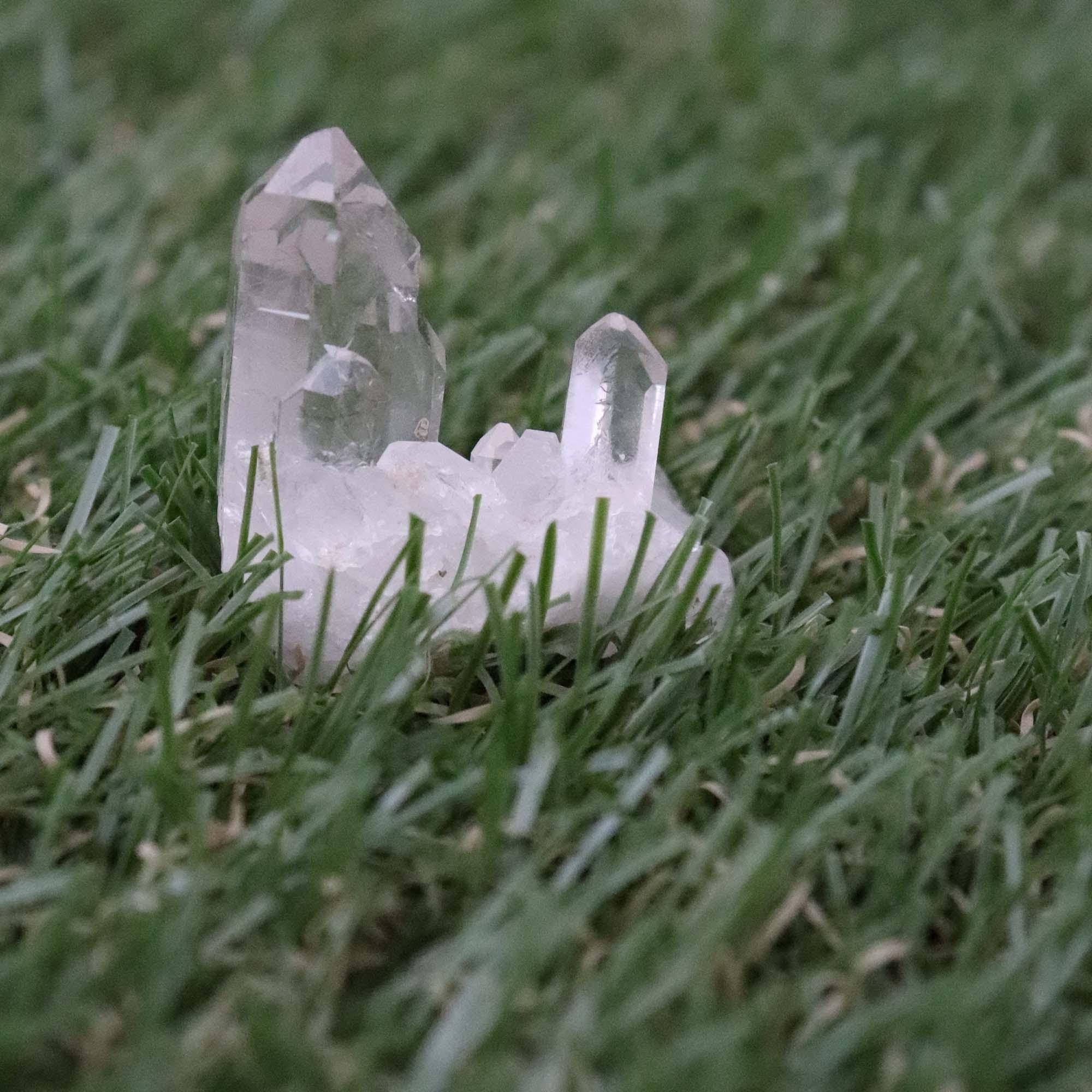 Cristal Quartzo branco 15g - Semi lapidado