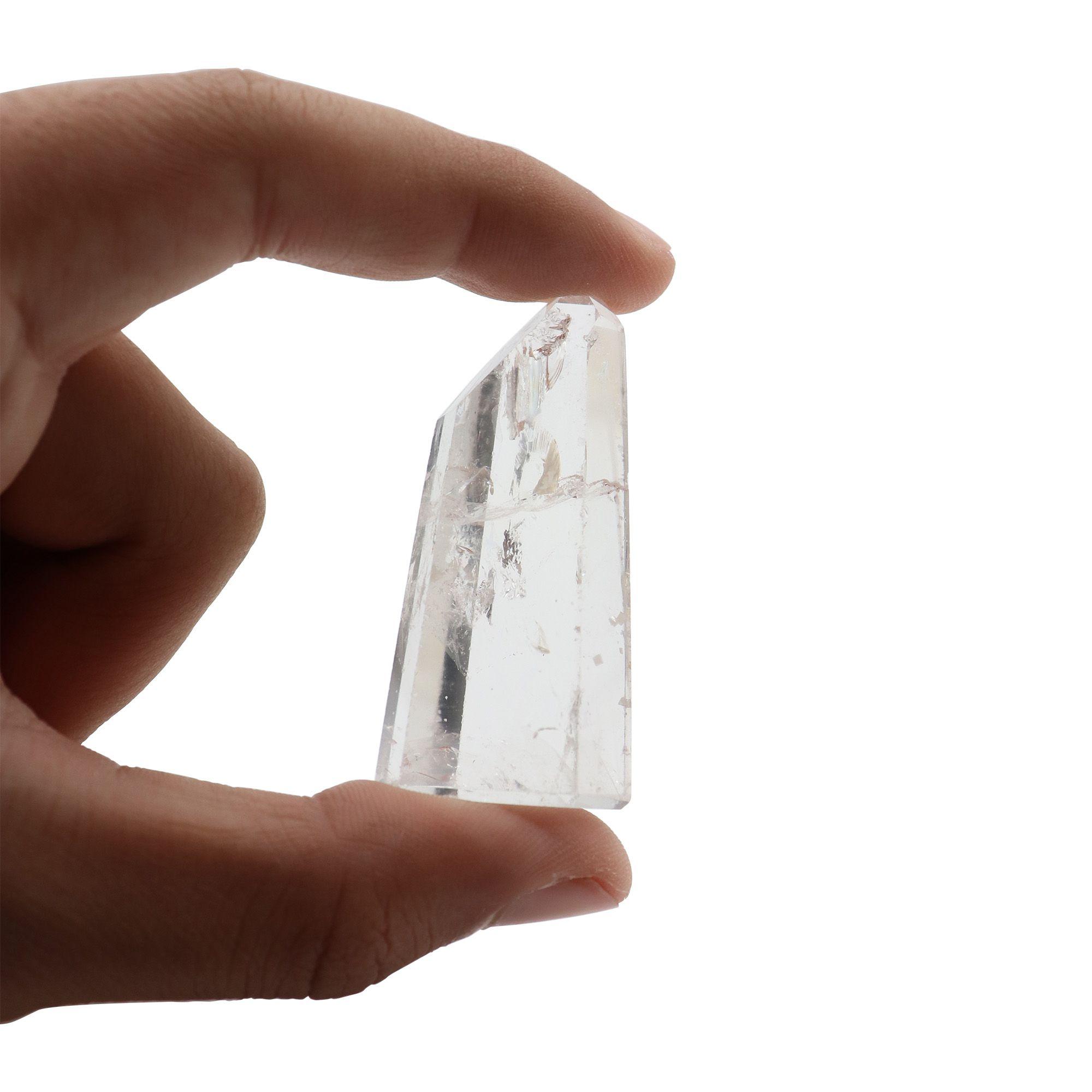 Cristal Quartzo de 30 à 45g - Polido