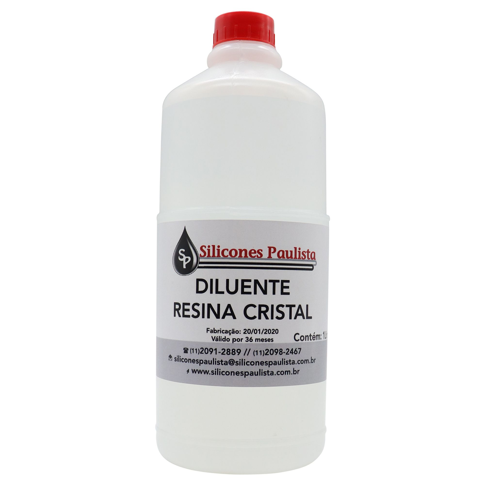 Diluente para Resina Cristal 1L