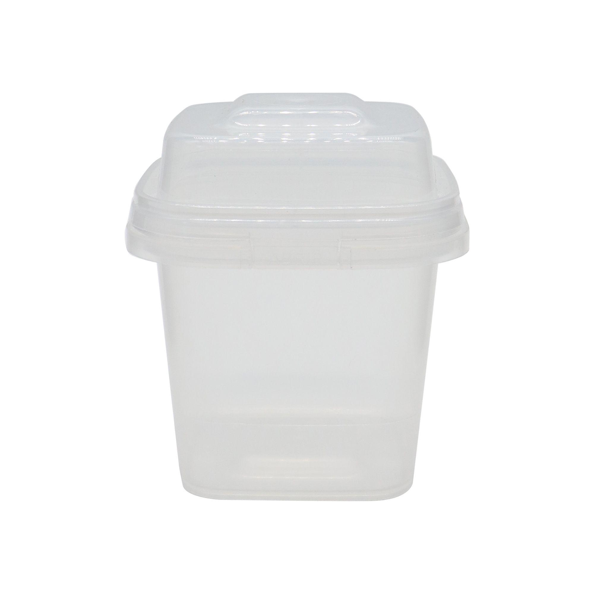 Embalagem transparente de 300g