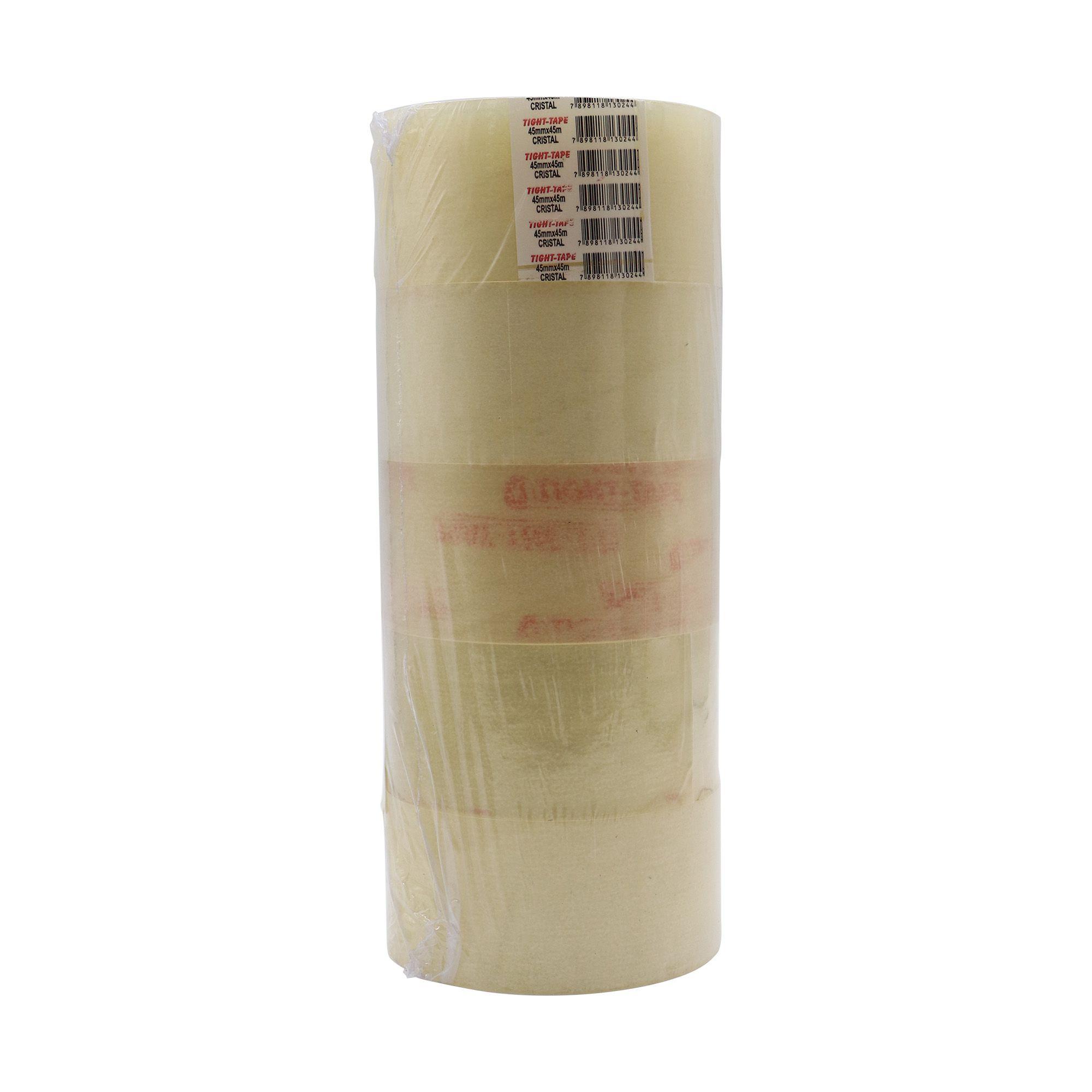 Fita Cristal para Embalagens - 45mmx45m