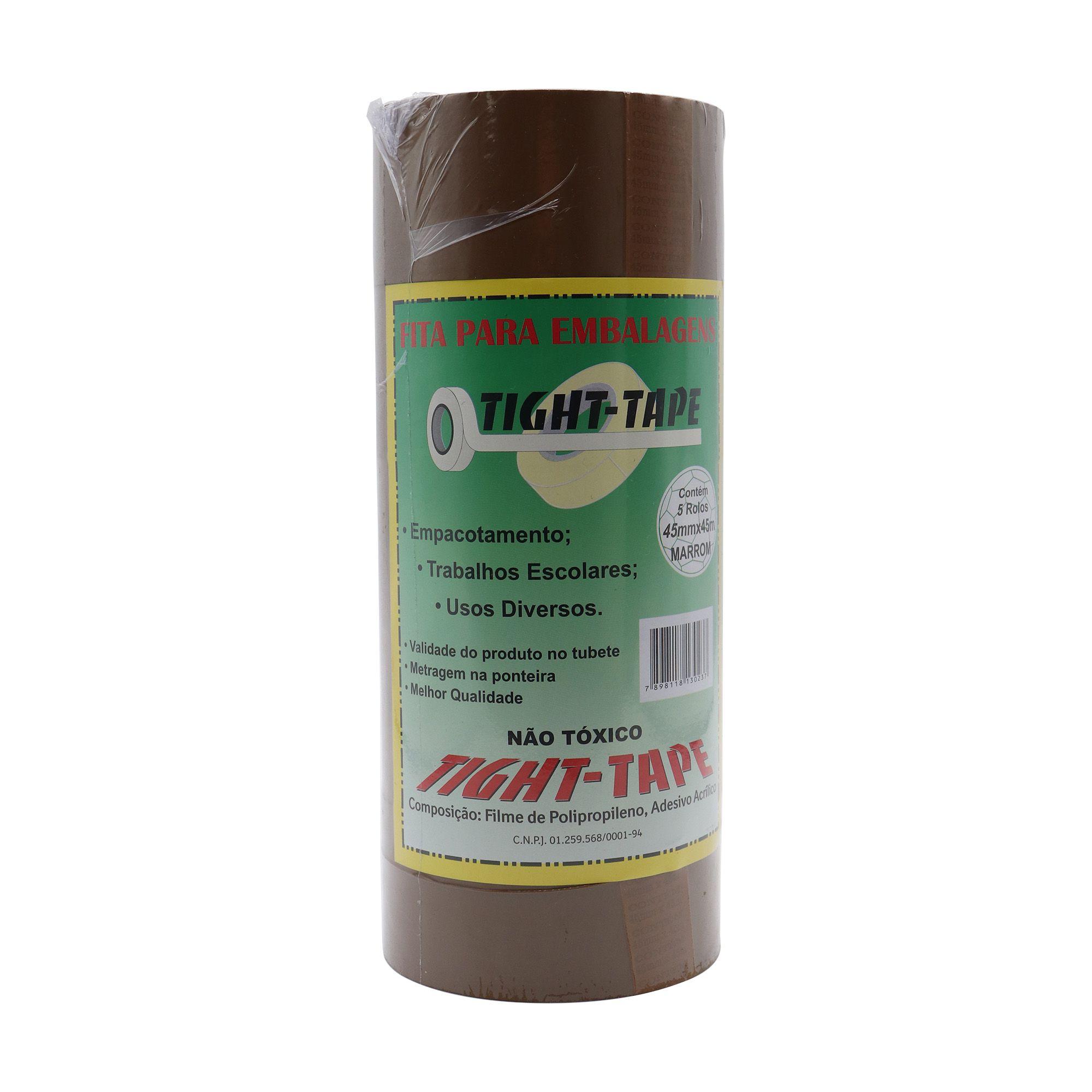 Fita Marrom para Embalagens - 45mmx45m