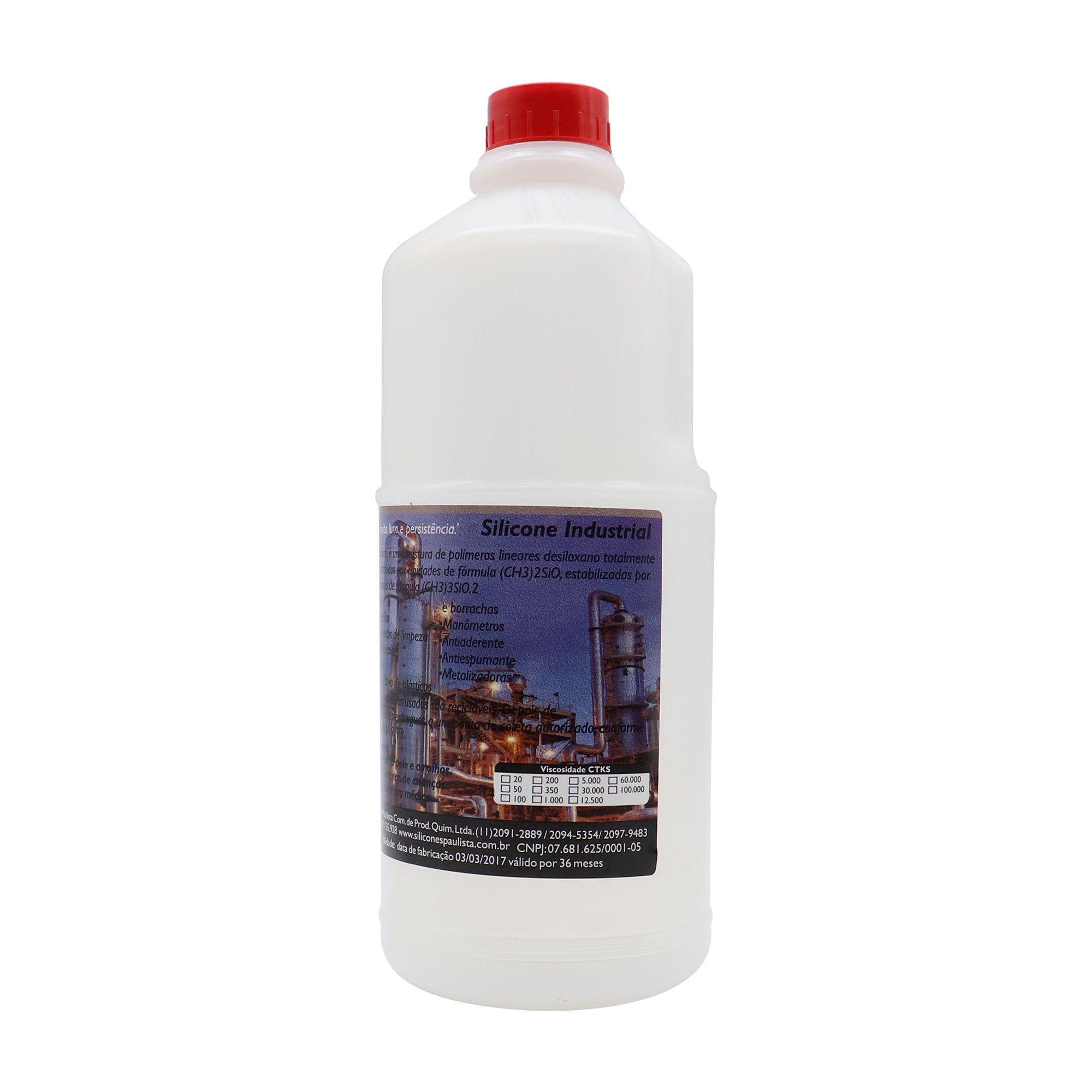 Fluido de Silicone 1L - VISCOSIDADE 50