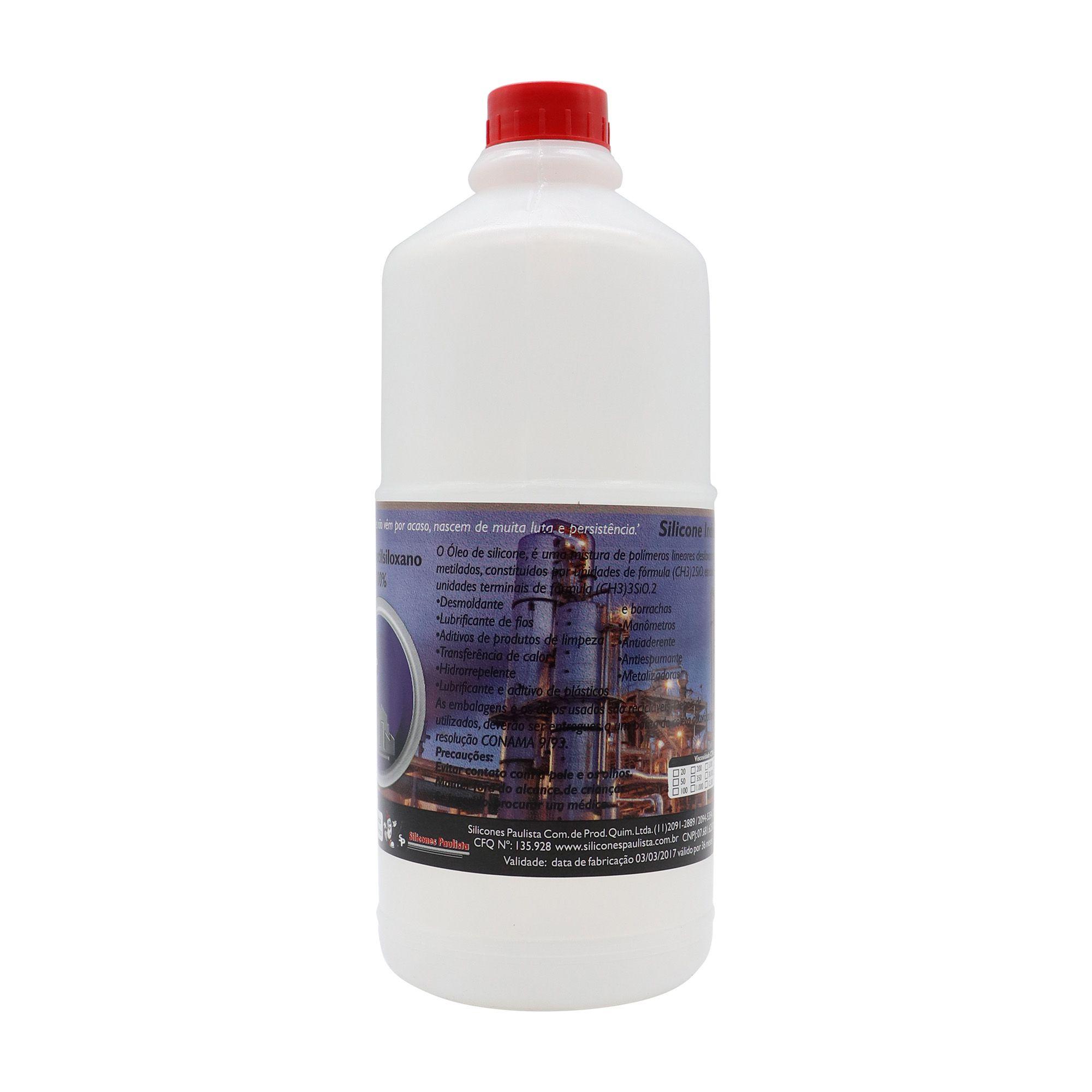 Fluido de Silicone 1L - VISCOSIDADE 1.000