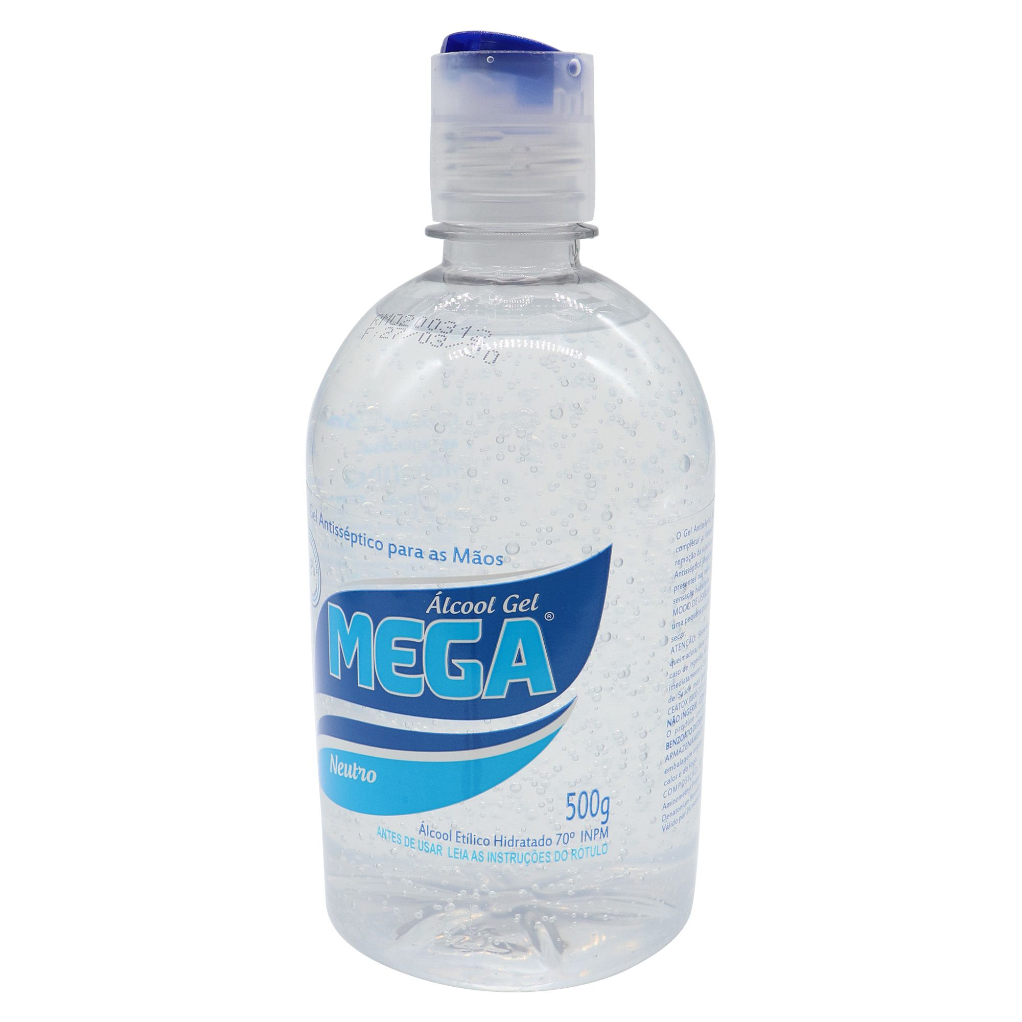 Gel antisséptico para as mãos 70% - 500ml