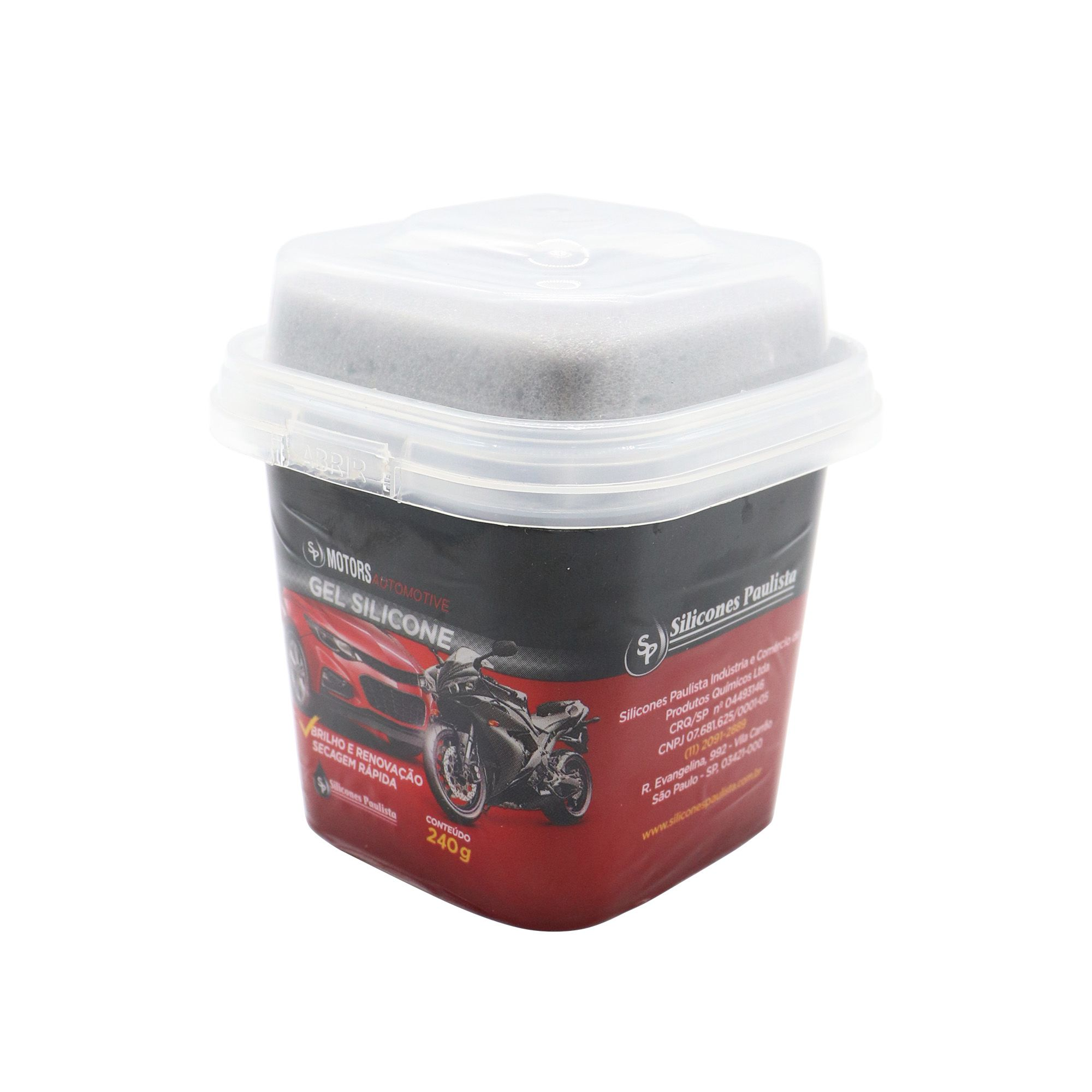 Gel de Silicone Automotivo - 240g