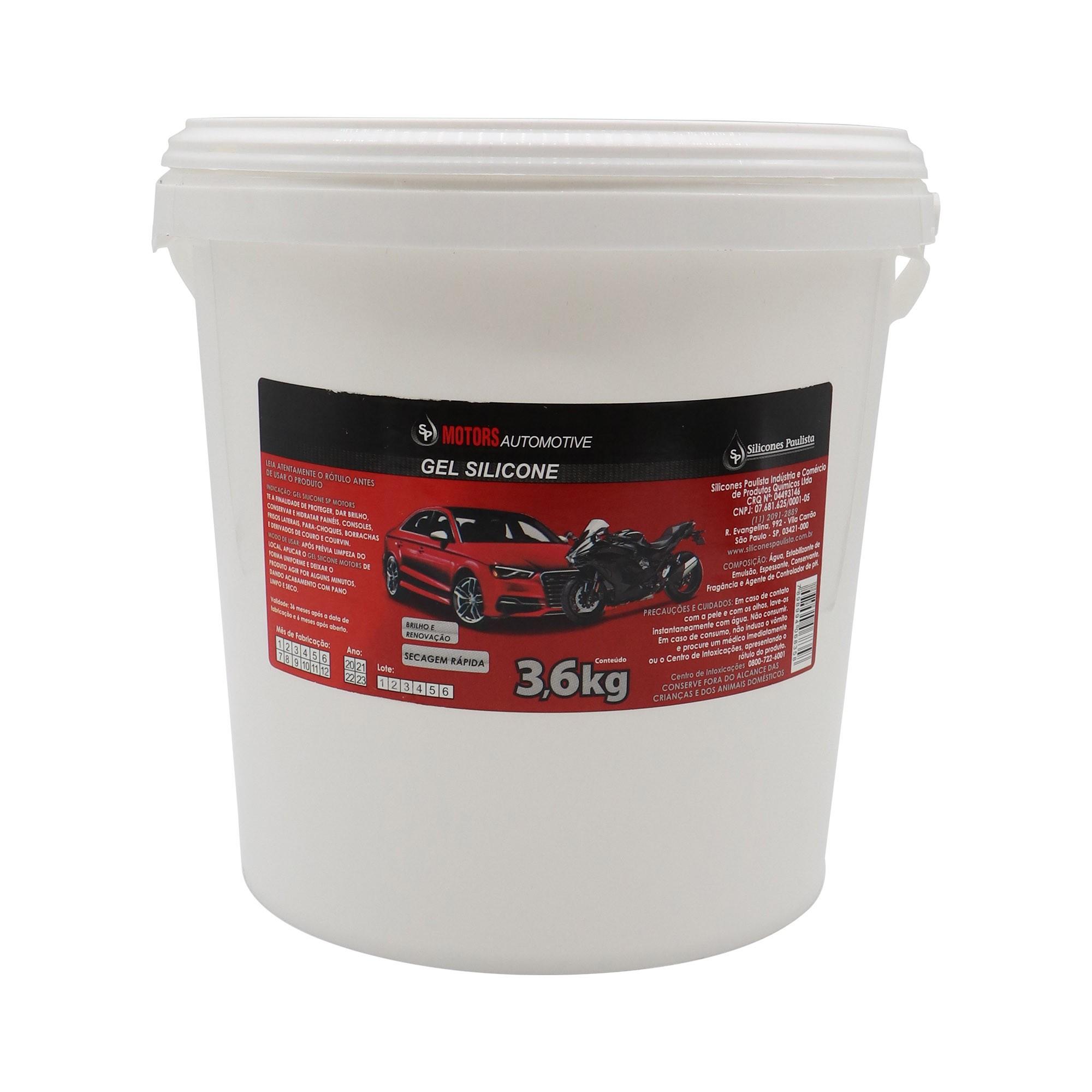 Gel de Silicone Automotivo - 3,6 Kg