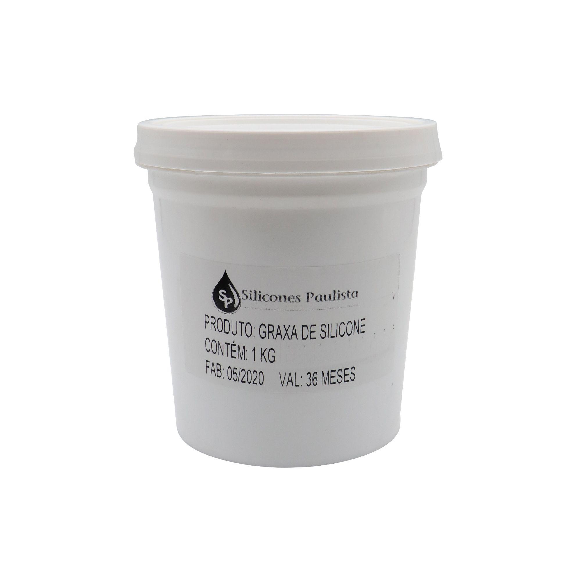 Graxa de silicone 1kg