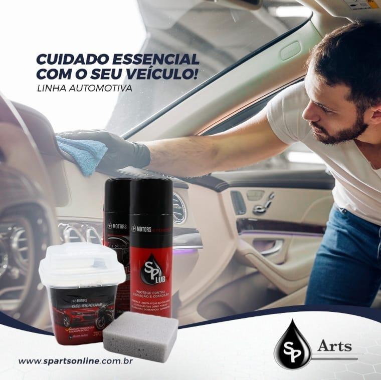 KIT Automotivo n° 1 (Desengripante / Spray de Silicone / Gel de Silicone 240g)