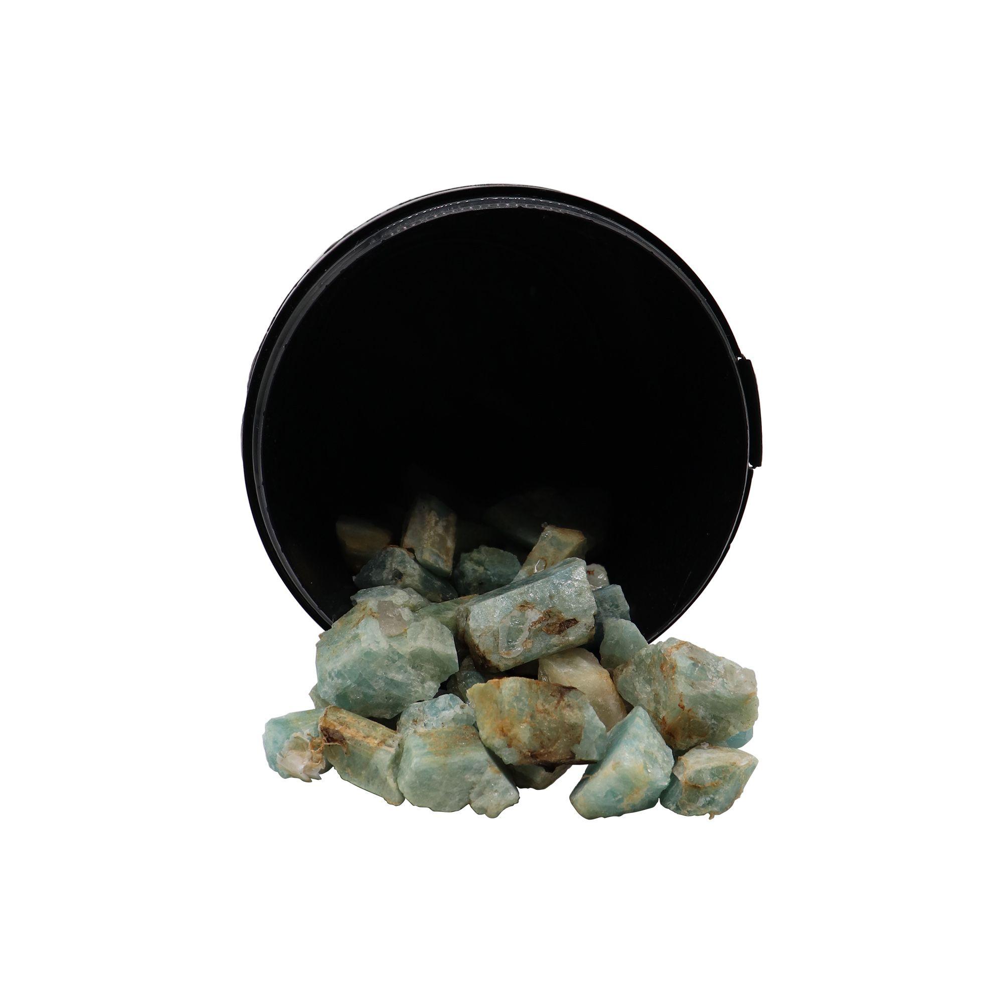 Kit com 5 pedras Calcita verde ~ 7 à 25g