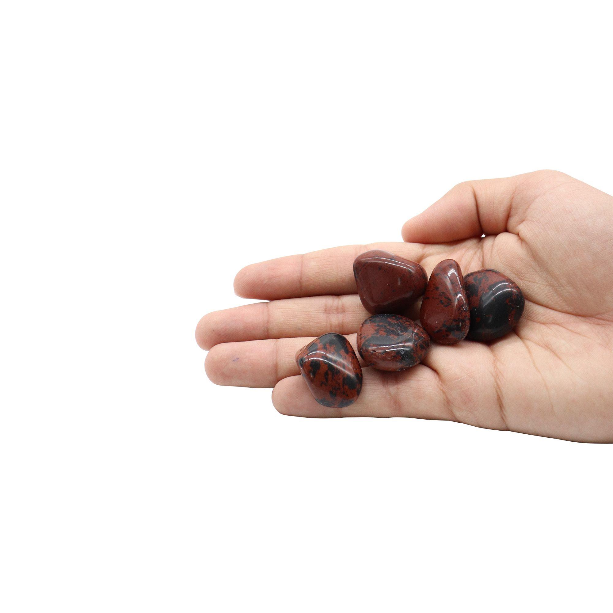 Kit com 5 pedras Obsidiana maragony ~ 7 à 30g