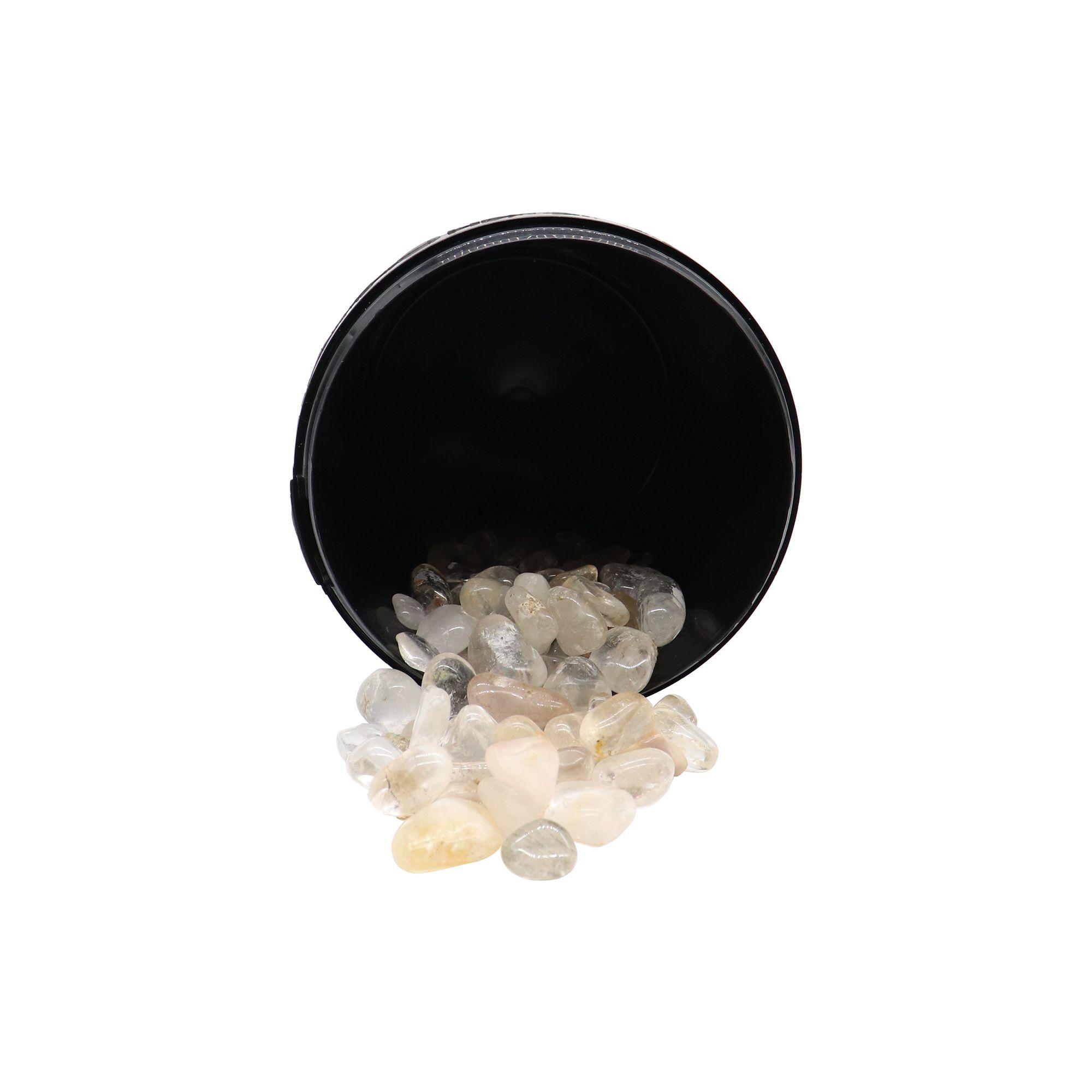 Kit com 5 pedras Quartzo branco ~ 7 à 25g