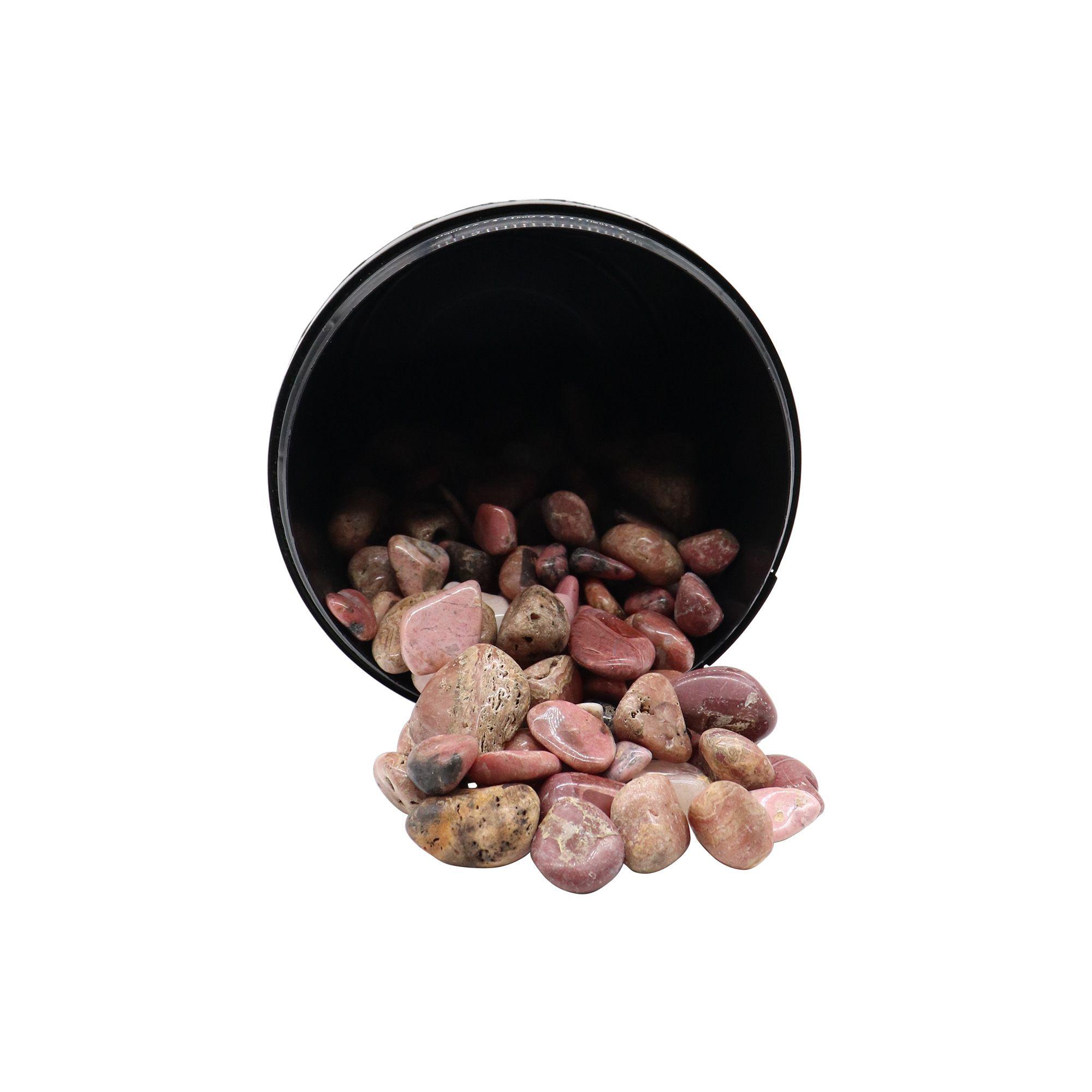 Kit com 5 pedras Rodocrosita ~ 7 à 25g