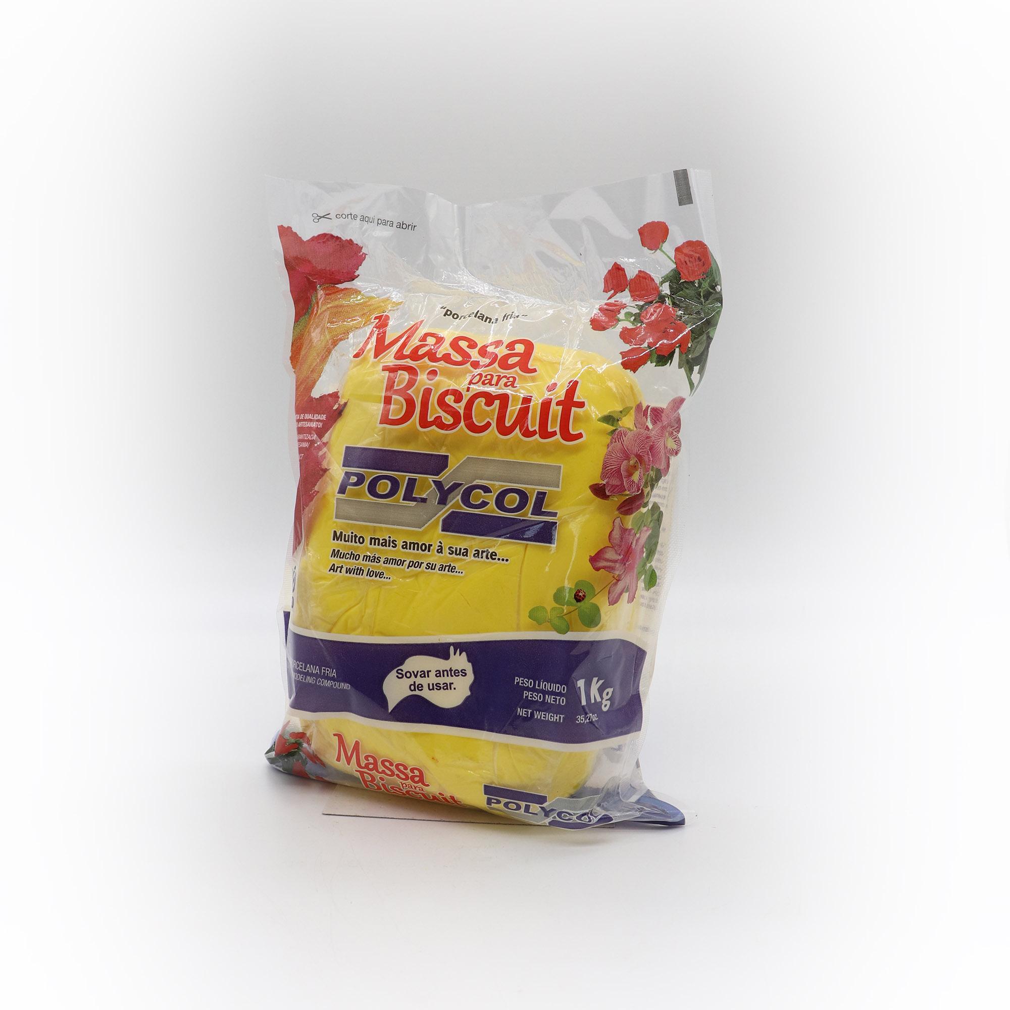 Massa para Biscuit Amarelo 1kg