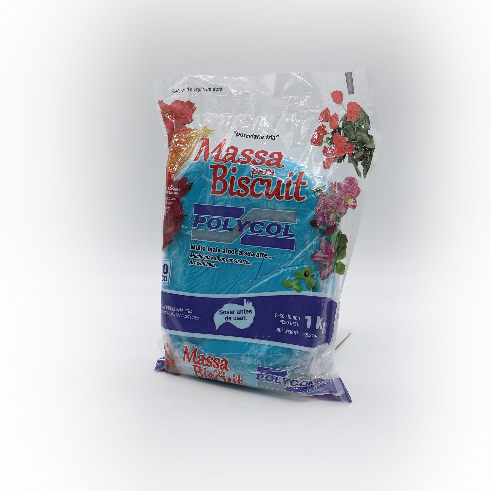 Massa para Biscuit Azul 1kg