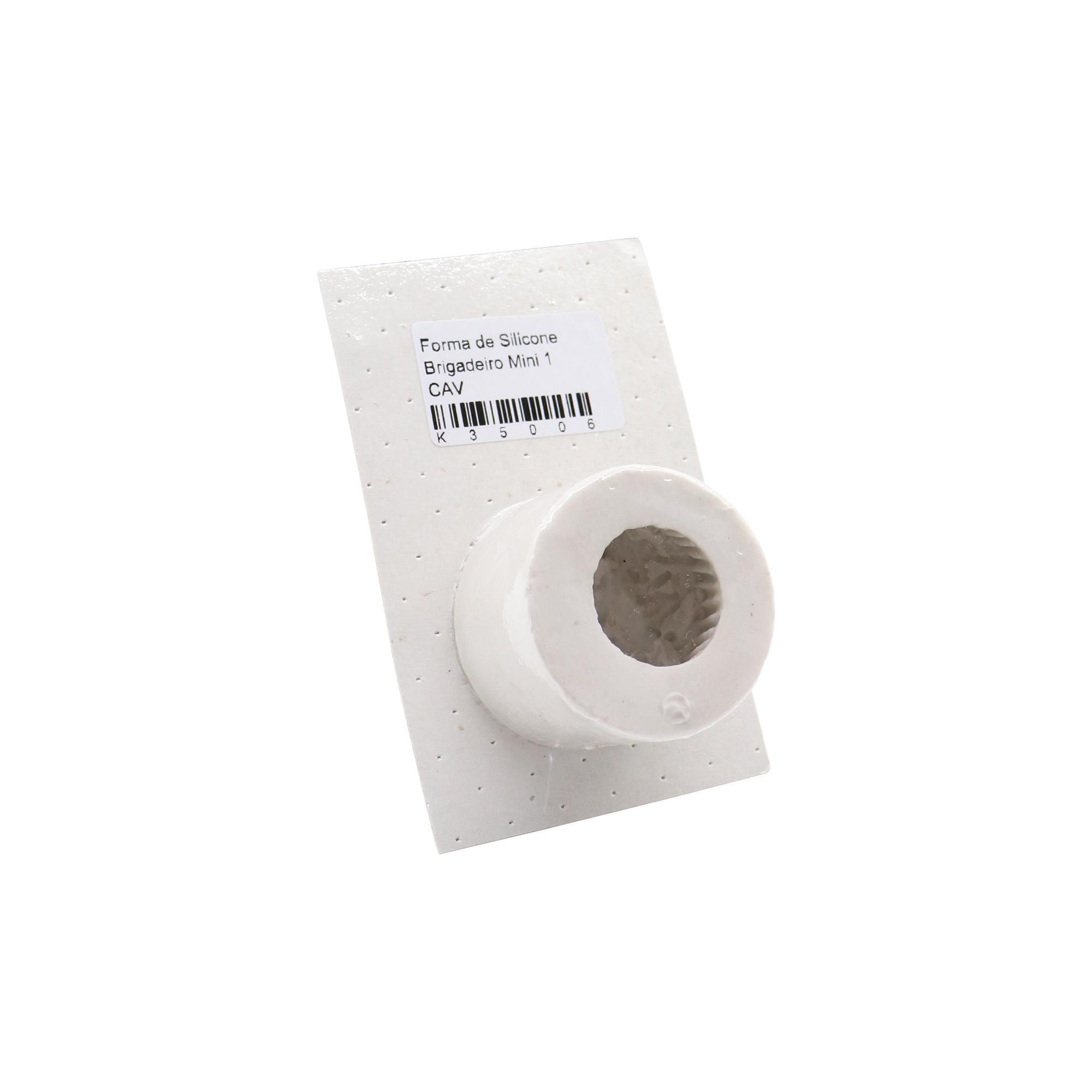 Molde de silicone brigadeiro mini