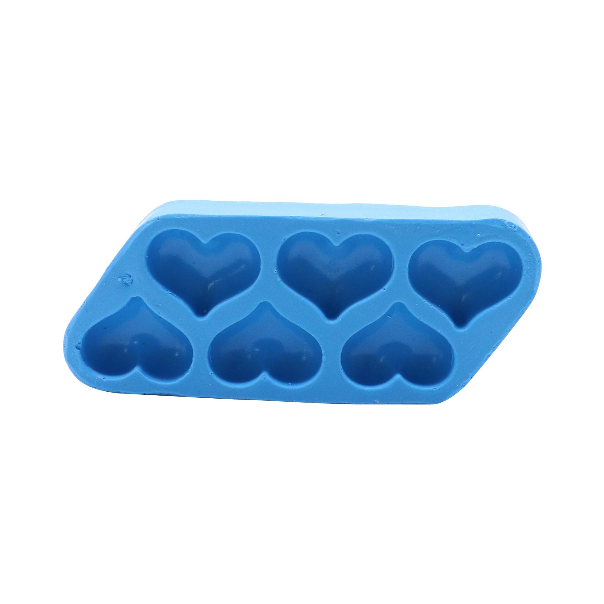 Molde de silicone de cotação 6 com cavidades