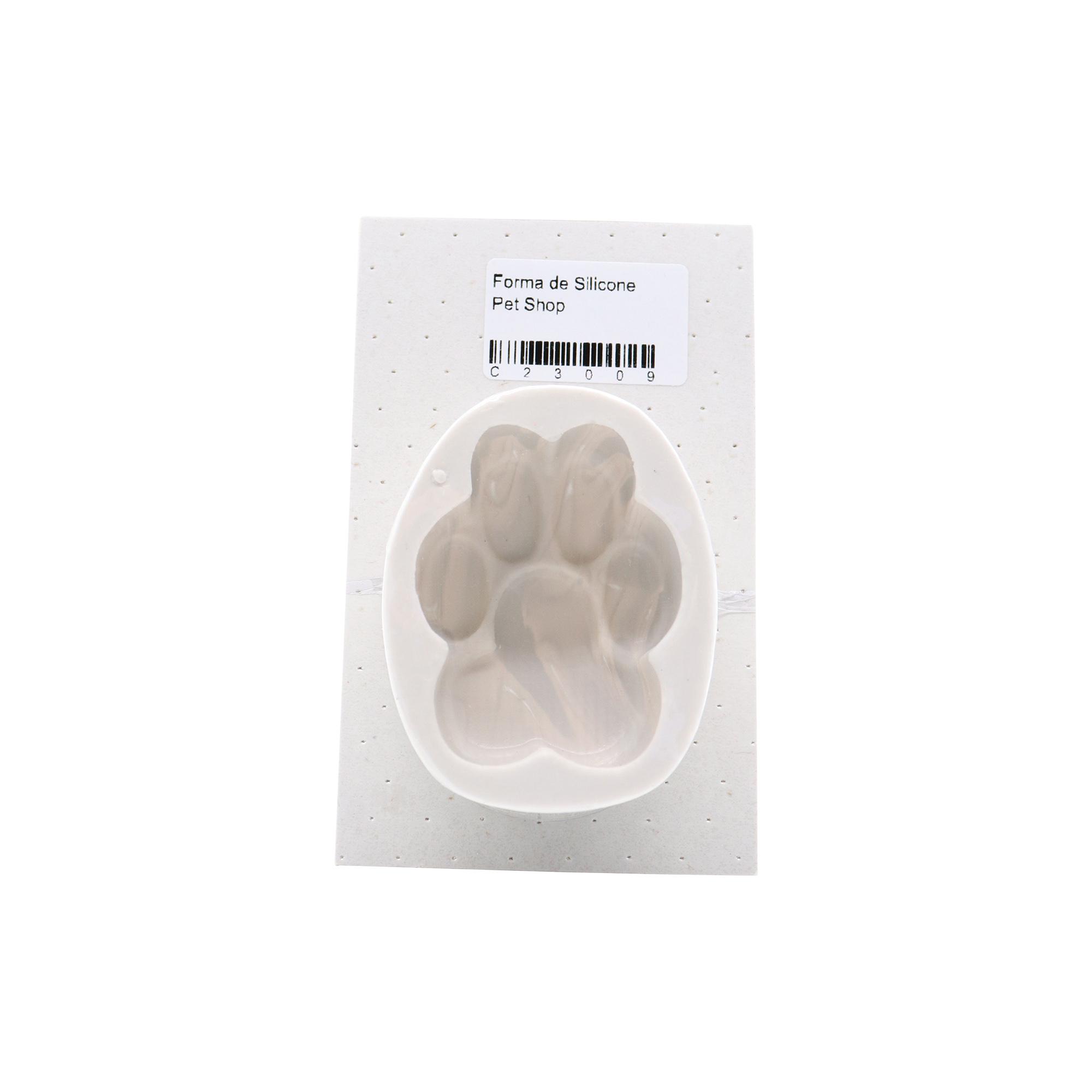Molde de silicone pet shop