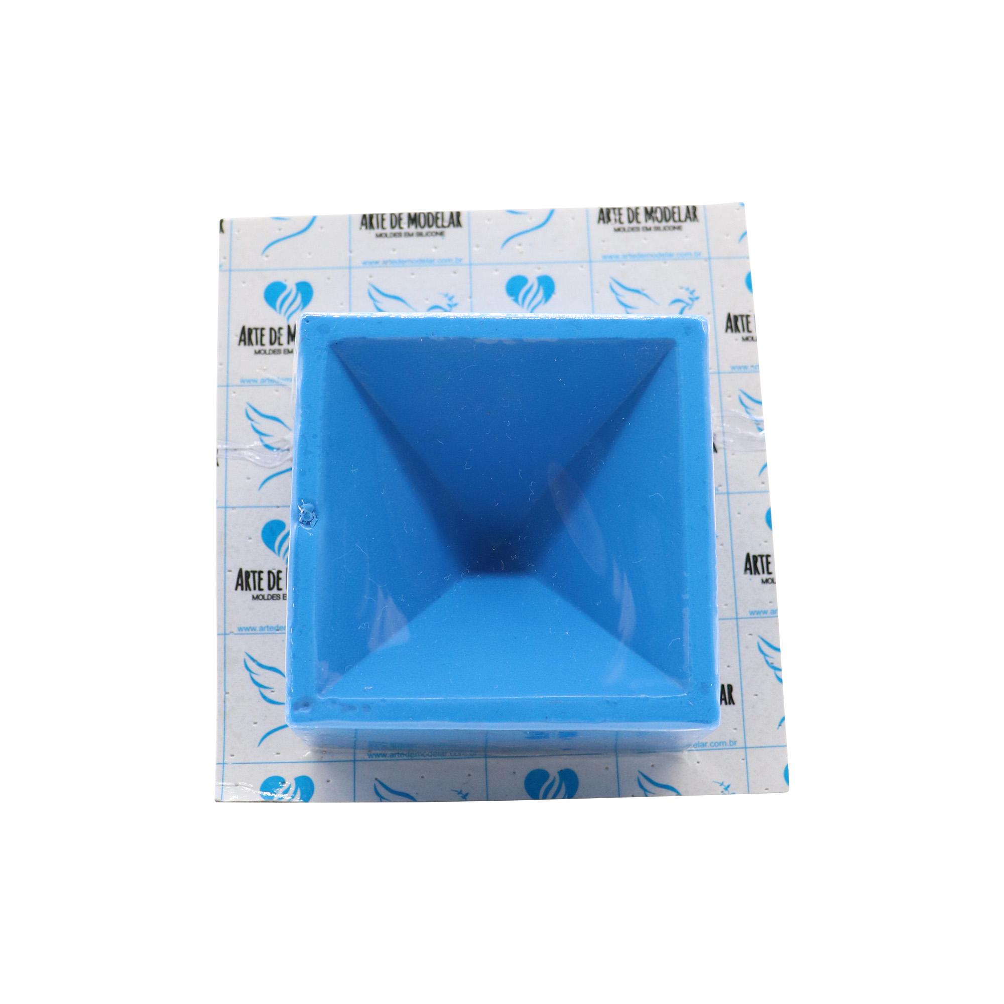Molde de silicone Pirâmide de Orgonite