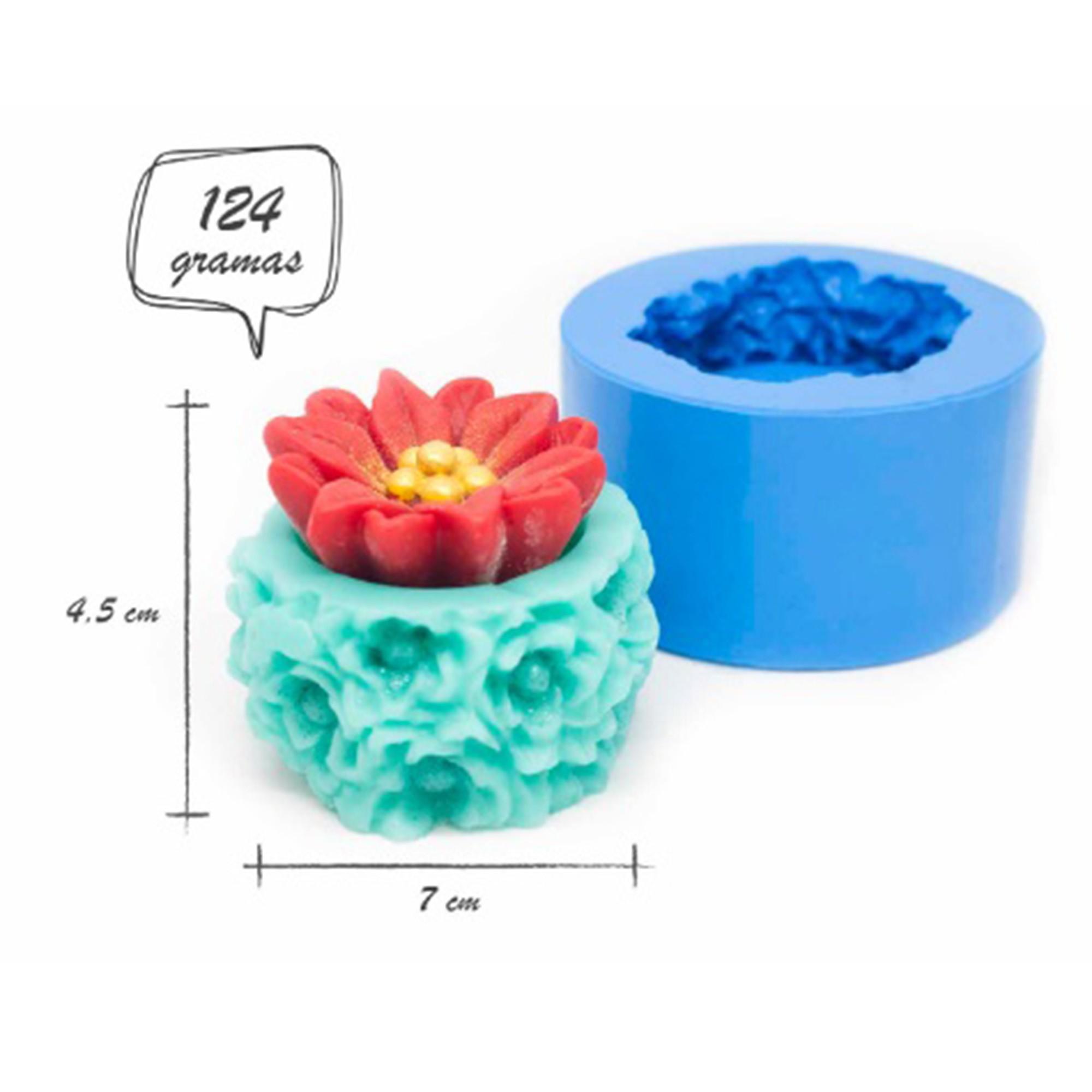 Molde de silicone Vaso provence