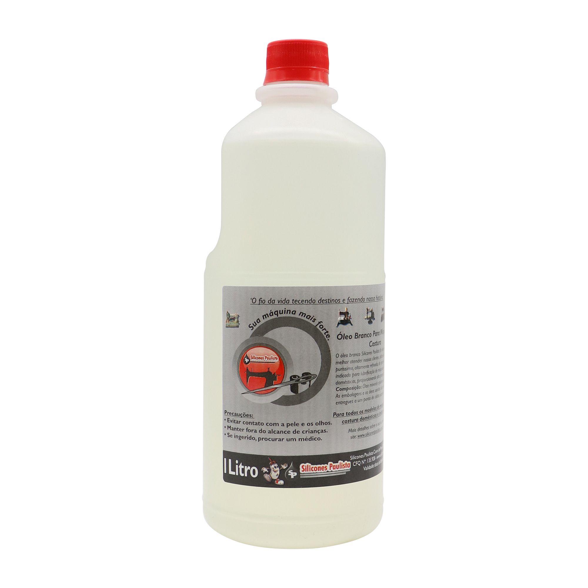 Óleo Mineral Branco 1L