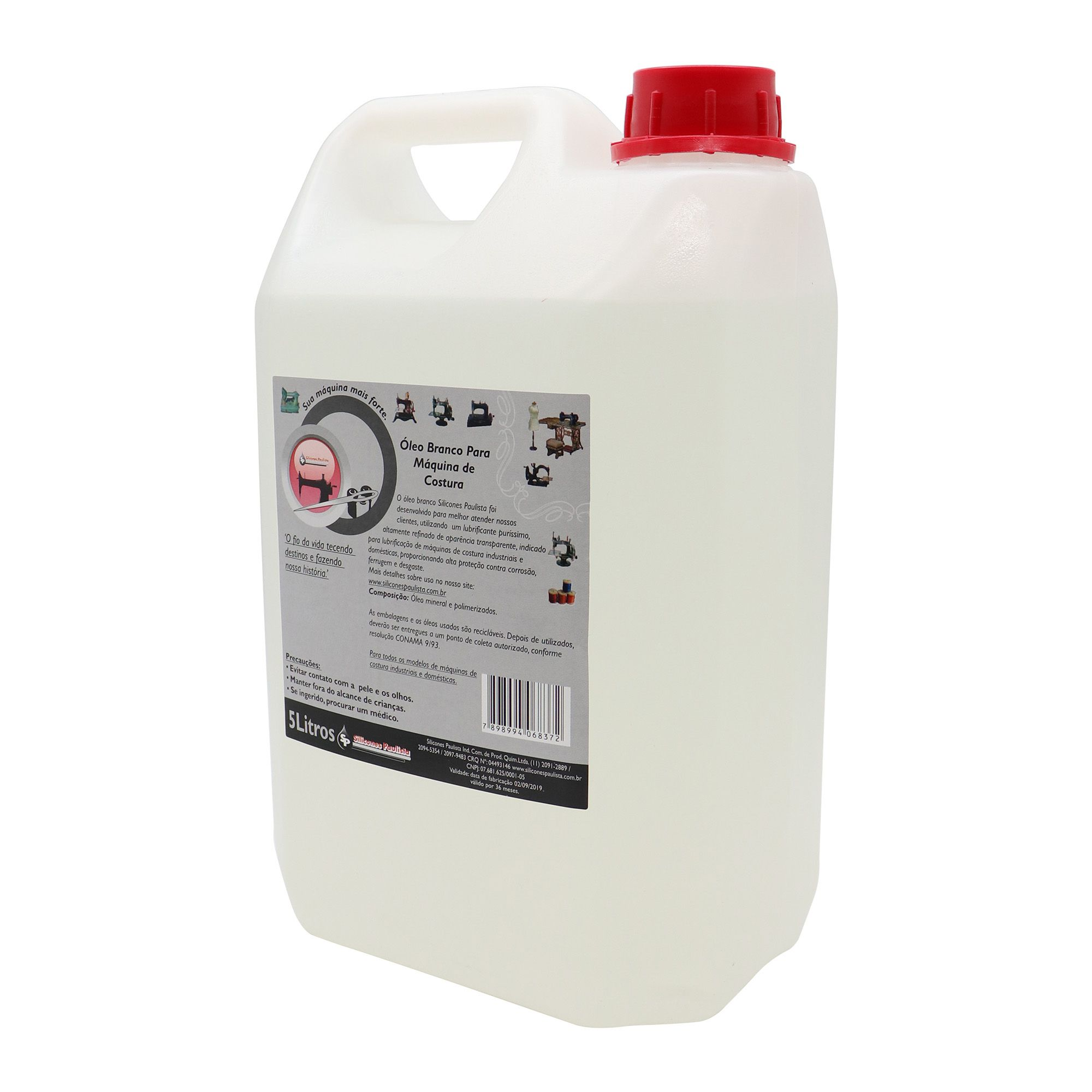 Óleo Mineral Branco 5L