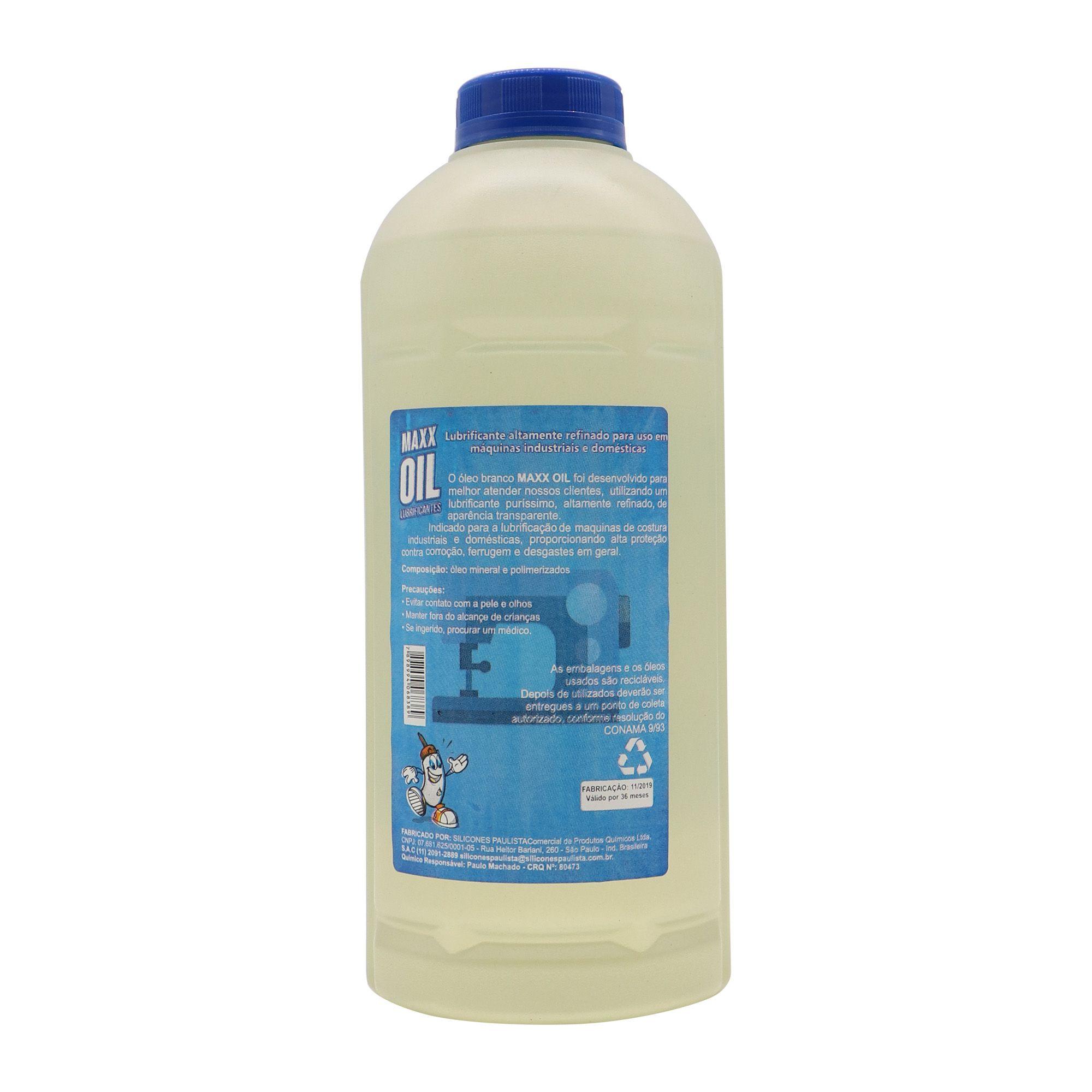 Óleo Mineral Maxx Oil 1L