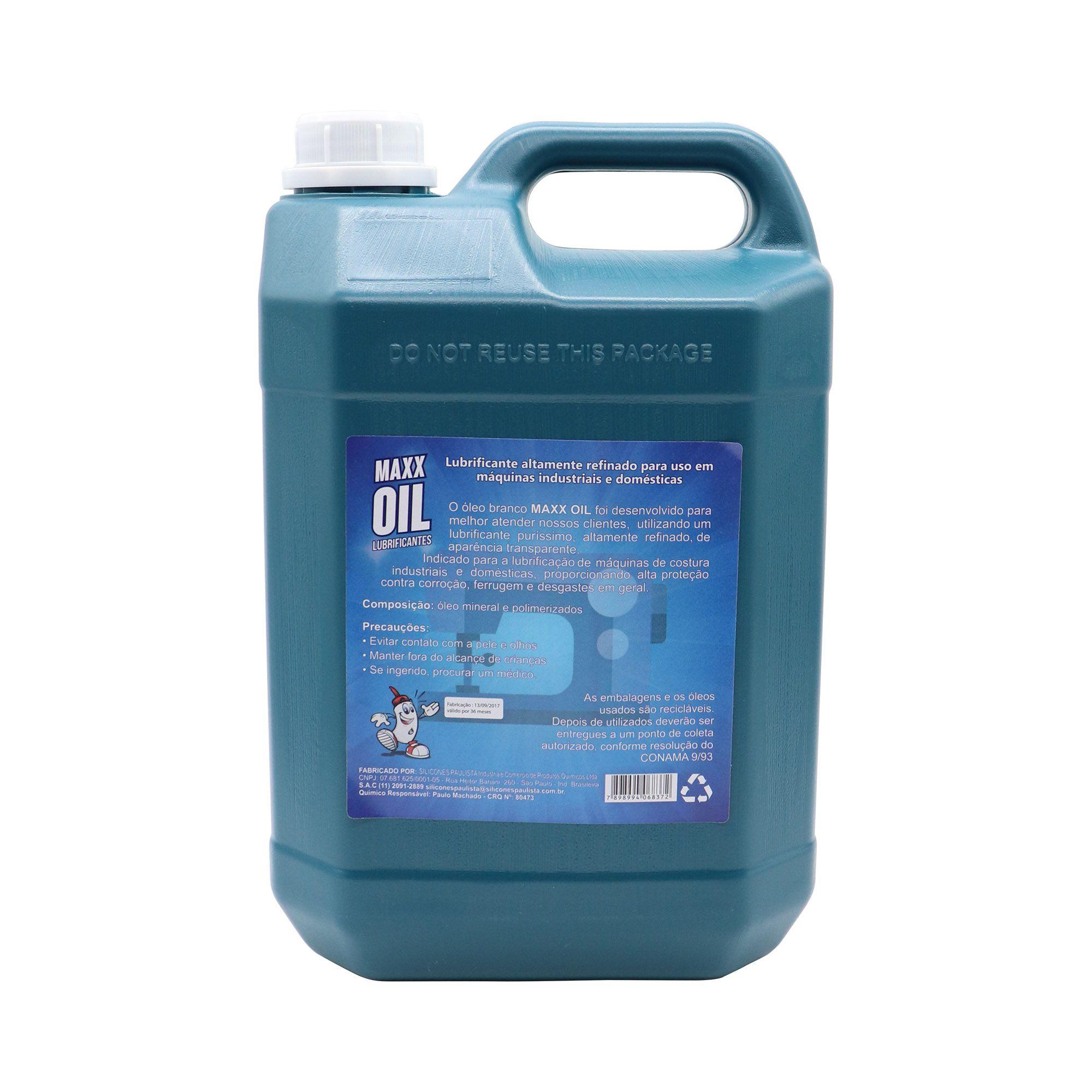 Óleo Mineral Maxx Oil 5L