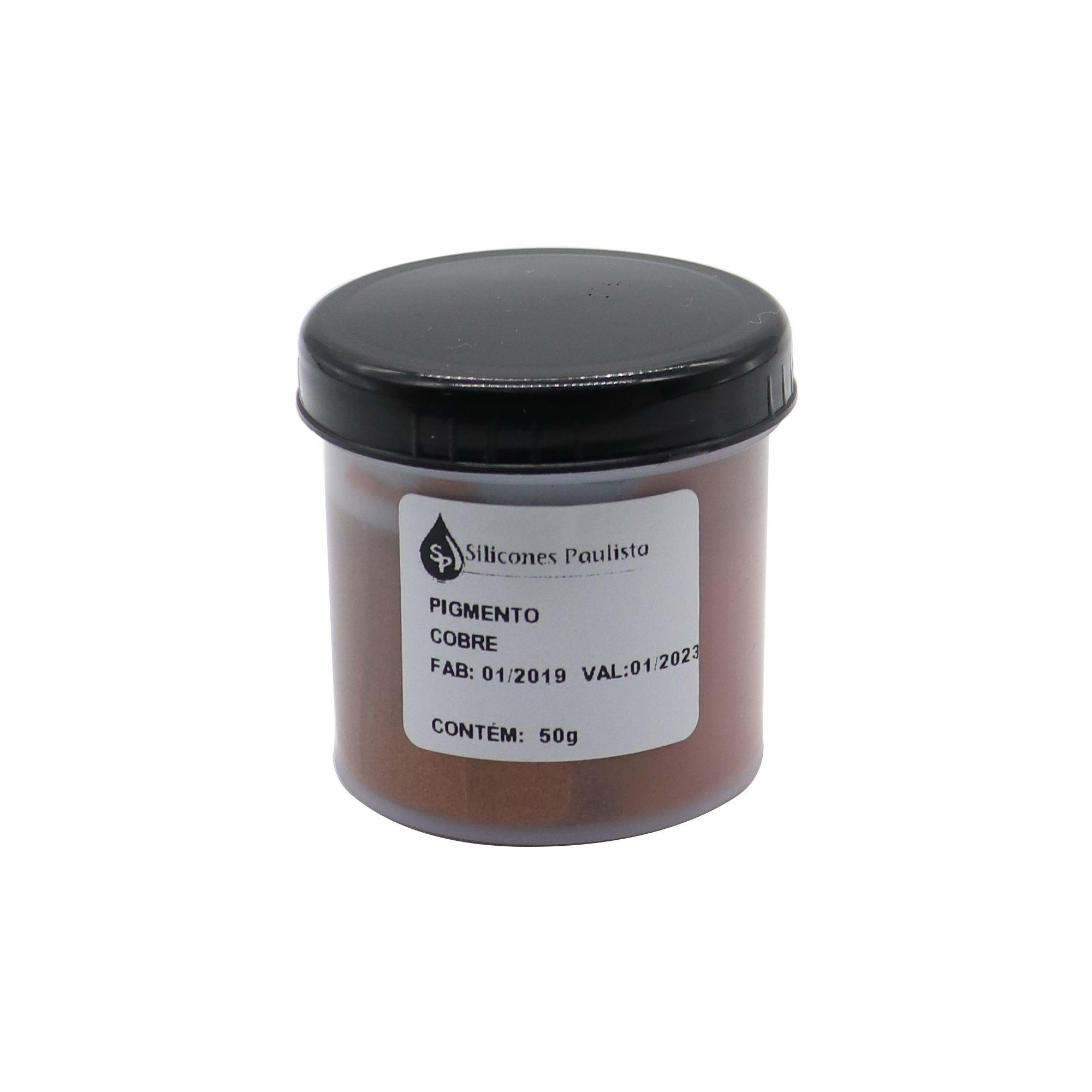 Pigmento pra Resina e Borracha 50g - Cobre