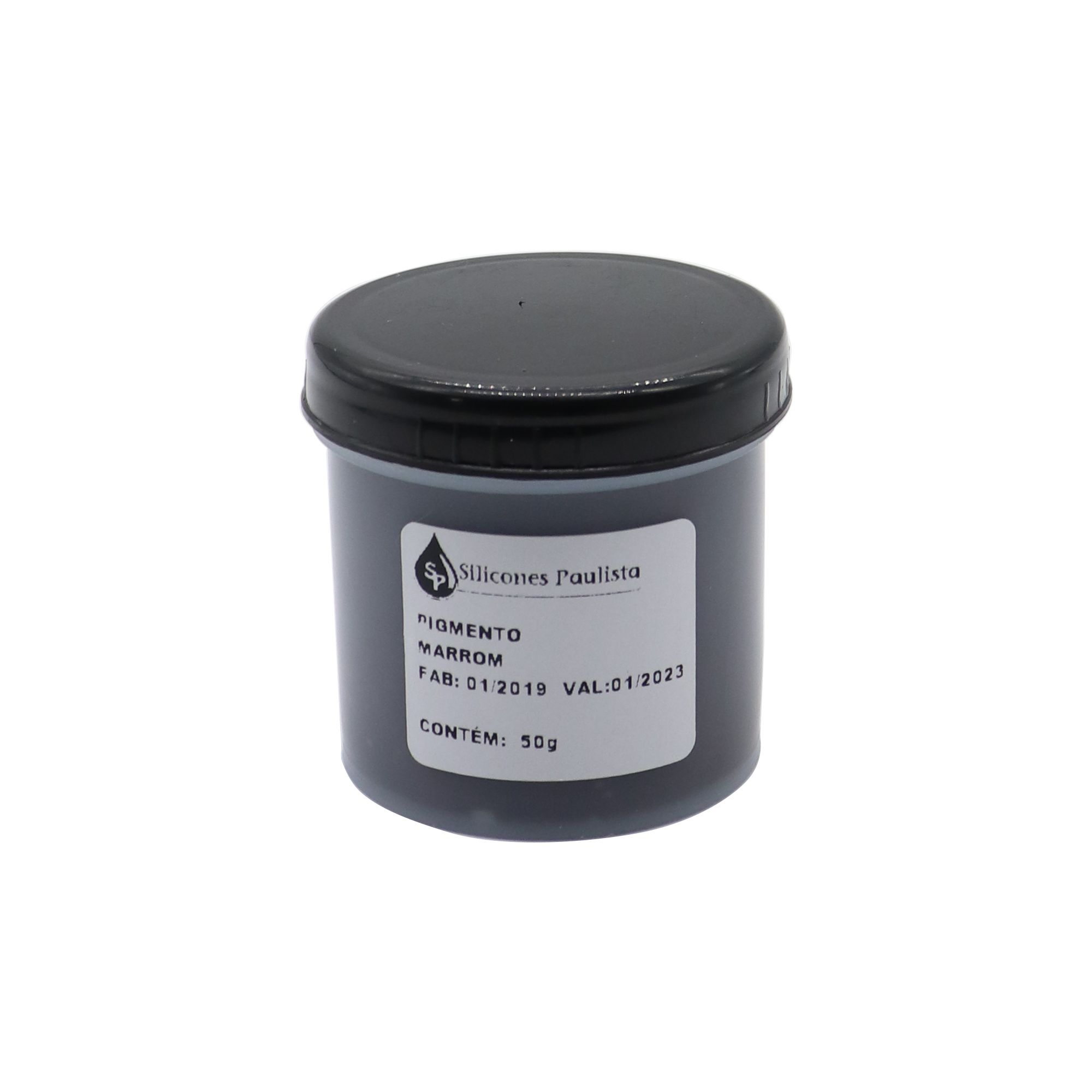 Pigmento pra Resina e Borracha 50g - Marrom