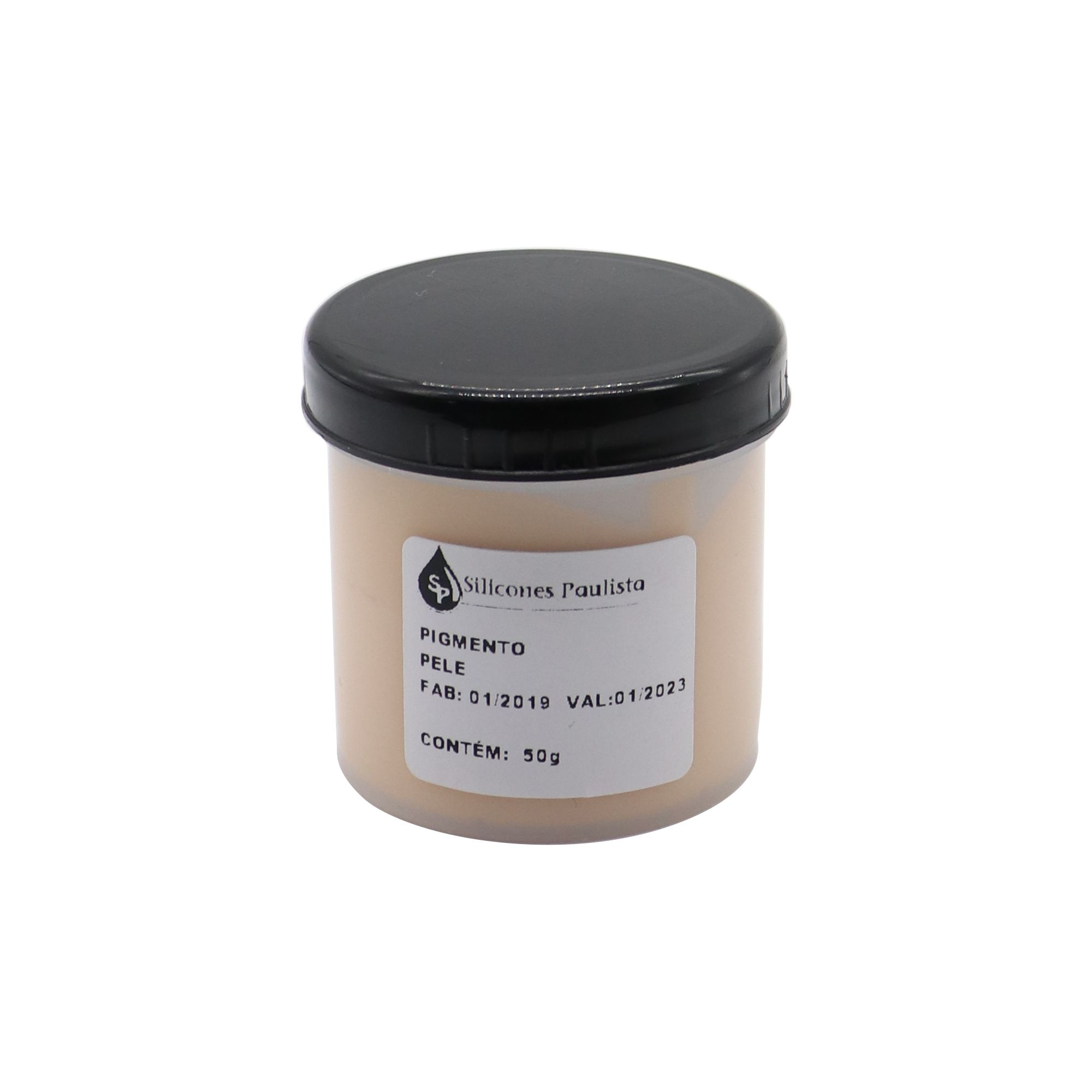 Pigmento pra Resina e Borracha 50g - Pele