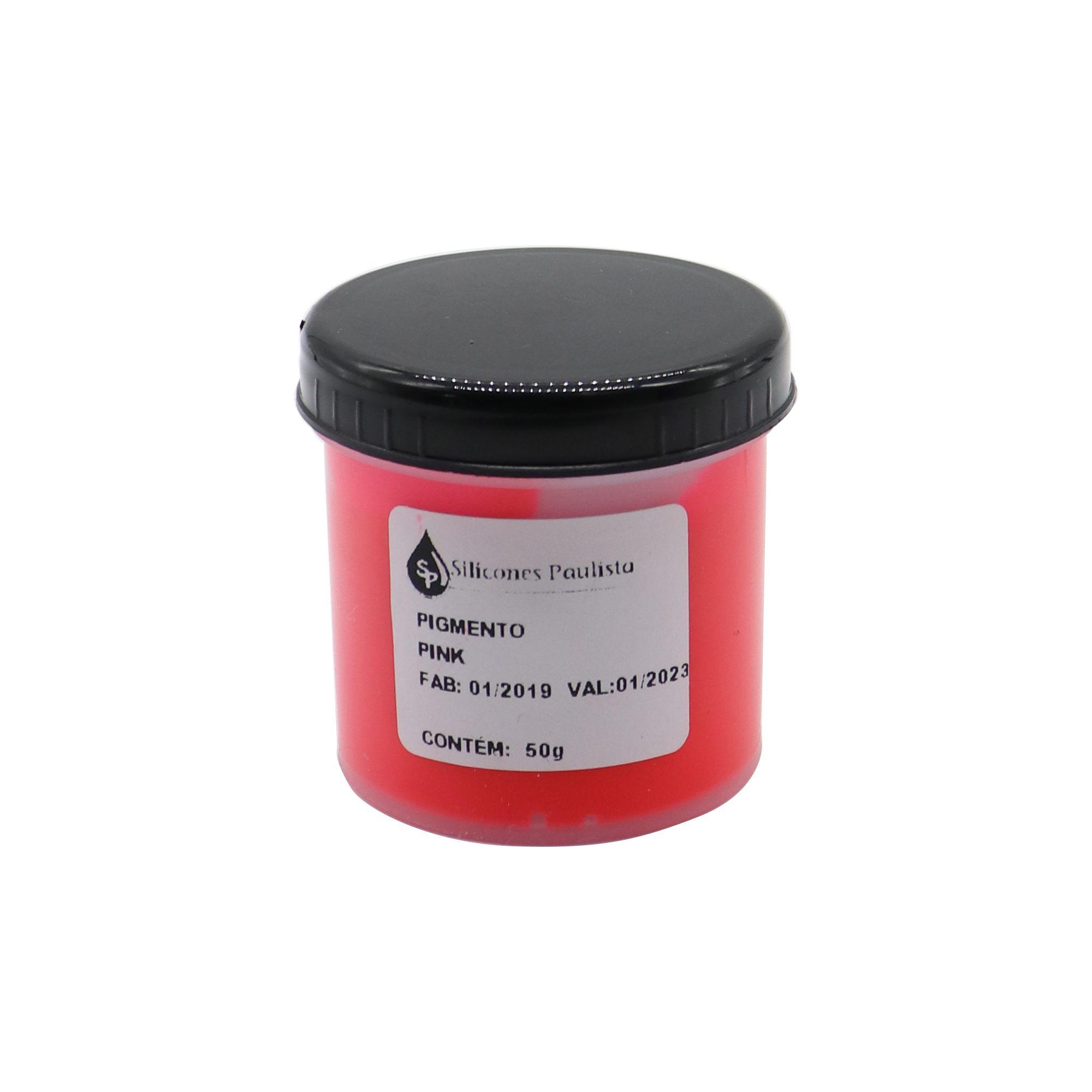 Pigmento pra Resina e Borracha 50g - Pink