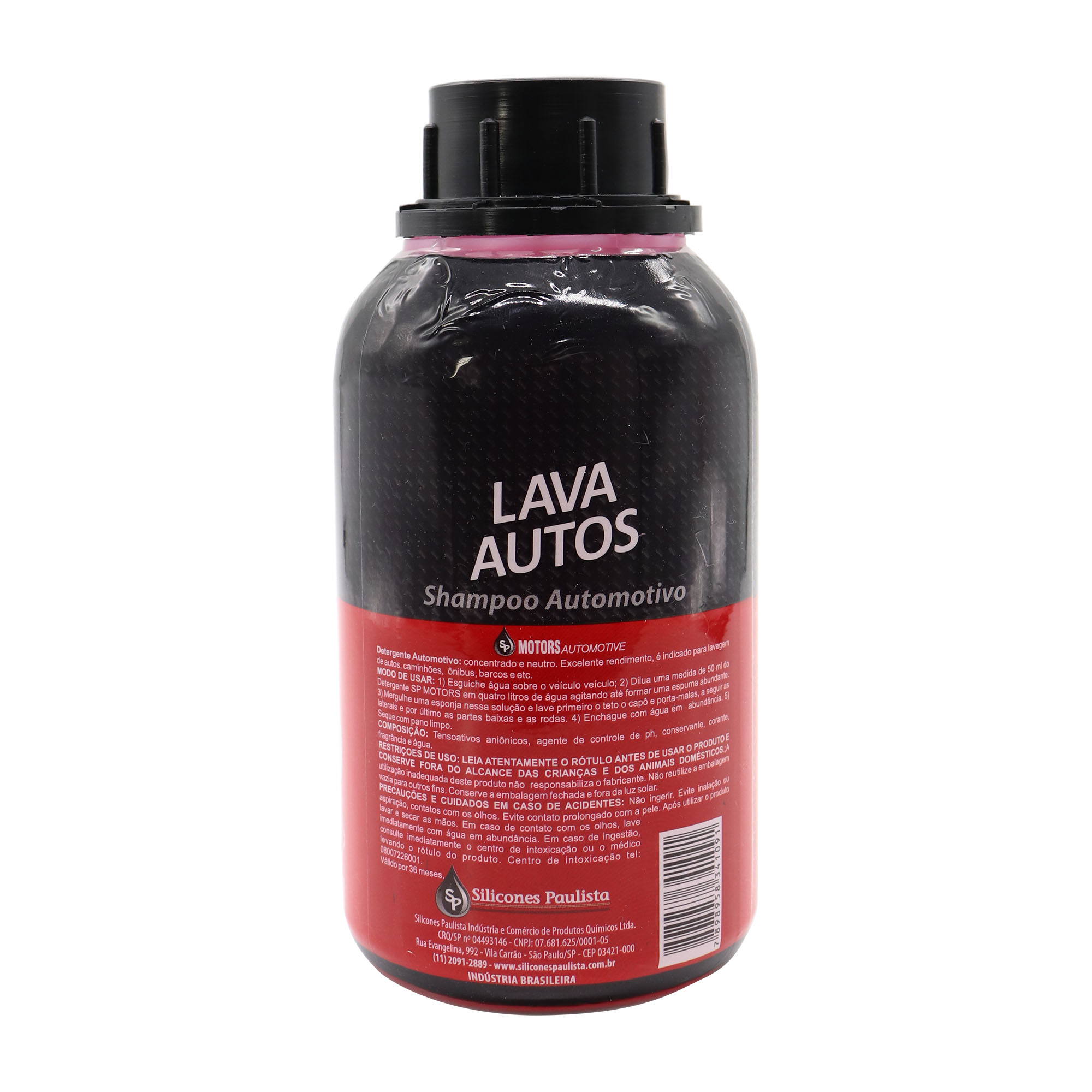 Shampoo neutro automotivo 500ml