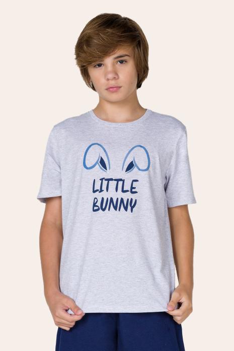 100/E - Pijama Juvenil Masculino - Família Bunny
