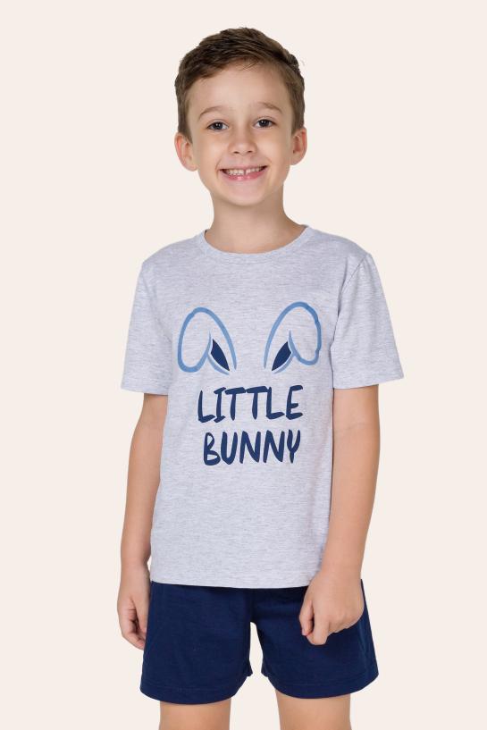 021/F - Pijama Infantil Masculino - Família Bunny