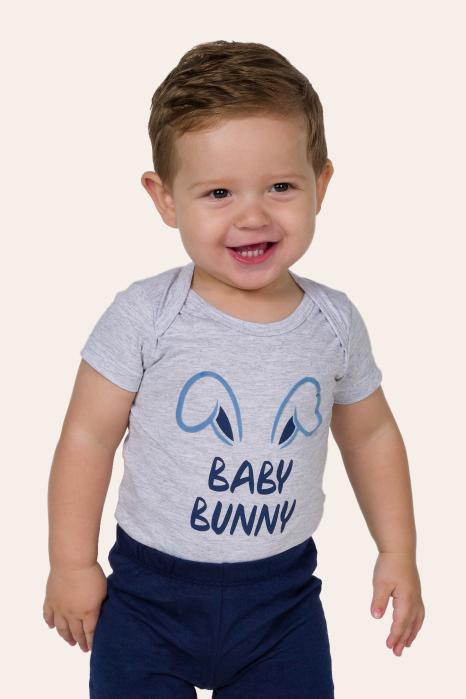021/G - Pijama de Bebê Unissex - Família Bunny