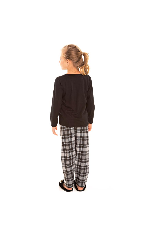 194/C - Pijama Infantil Feminino Xadrez