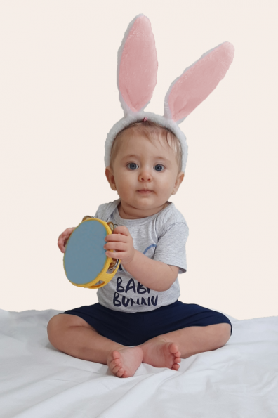 000/G - Pijama de Páscoa Para Família - Bebê Unissex