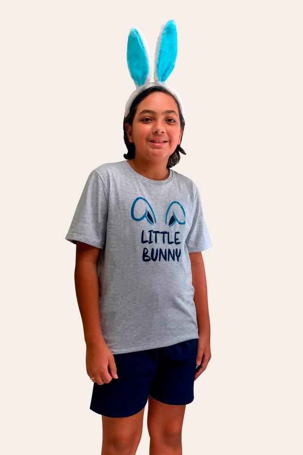 000/F - Pijama De Páscoa Para Família -  Juvenil Masculino