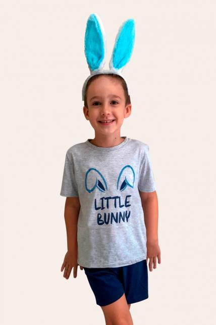 000/G - Pijama De Páscoa Para Família -  Infantil Masculino