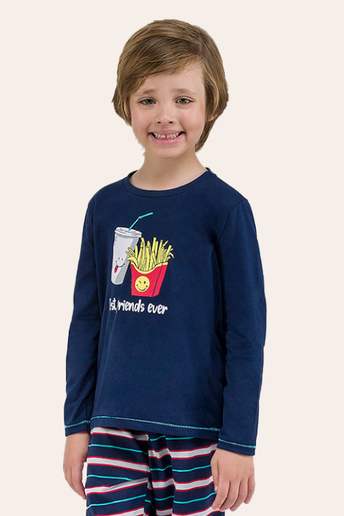 001/G - Pijama Infantil Masculino Best Friends Ever