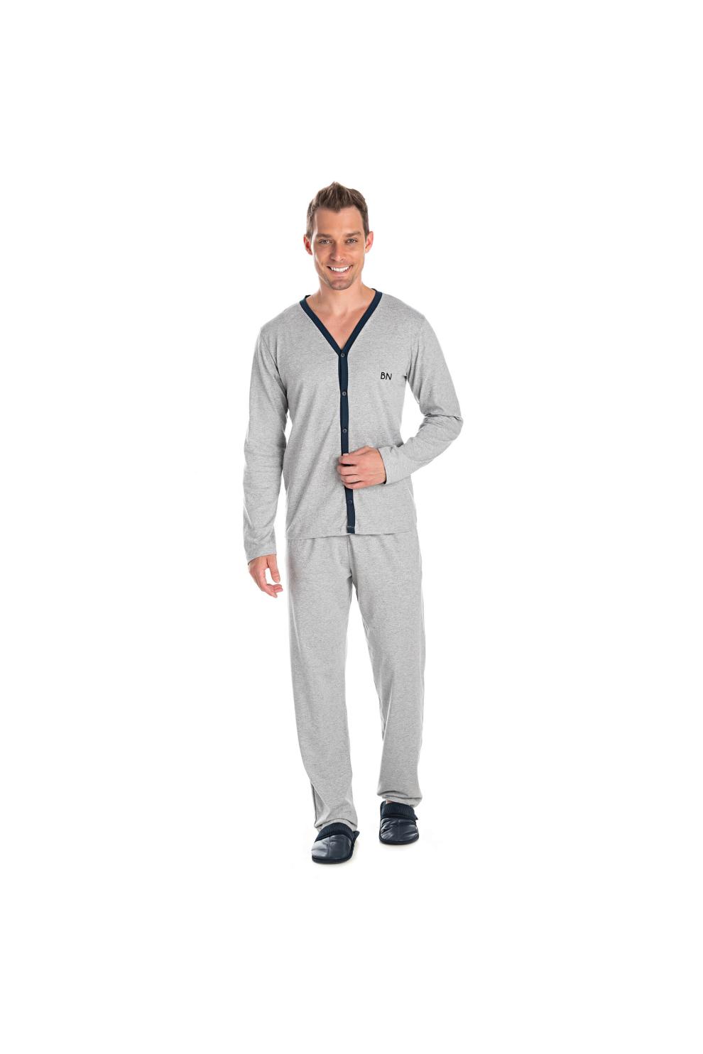 220/A - Pijama Adulto Masculino Aberto