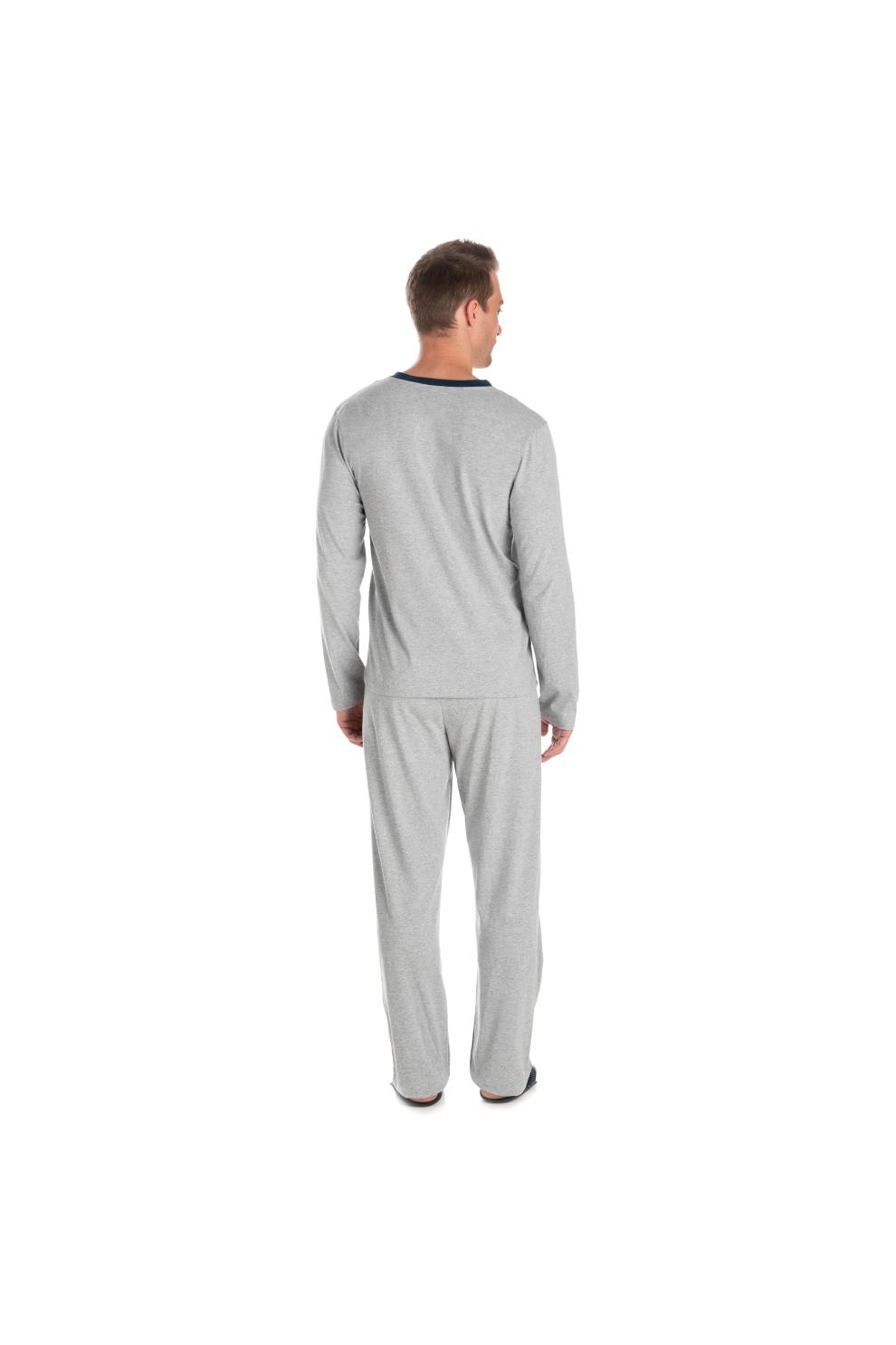 208/B - Pijama Adulto Masculino Aberto